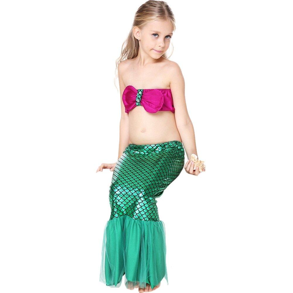 10 Fashionable Little Girl Halloween Costume Ideas child mermaid tail costume princess ariel the little mermaid costume 2020