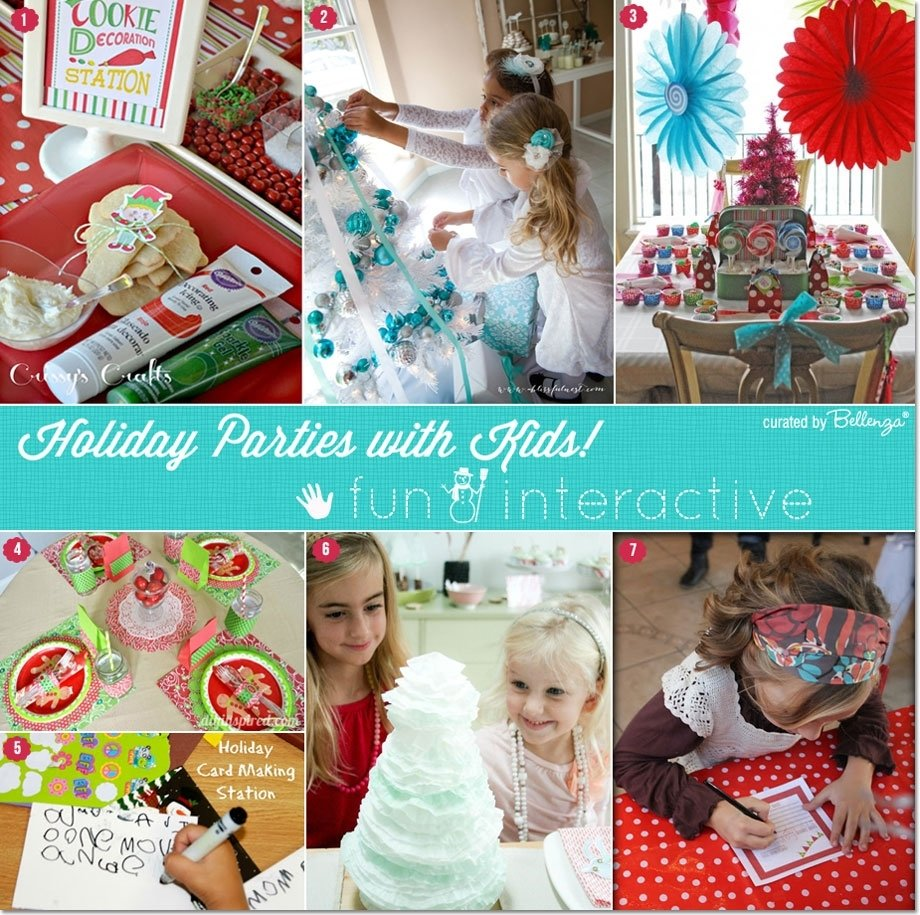 children's christmas party activities that are interactive