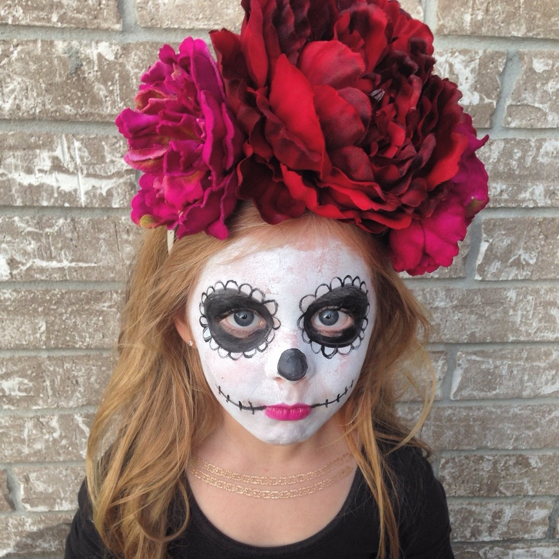 10 Wonderful Dia De Los Muertos Costumes Ideas childrens day of the dead costume dia de los muertos sugar skull 2