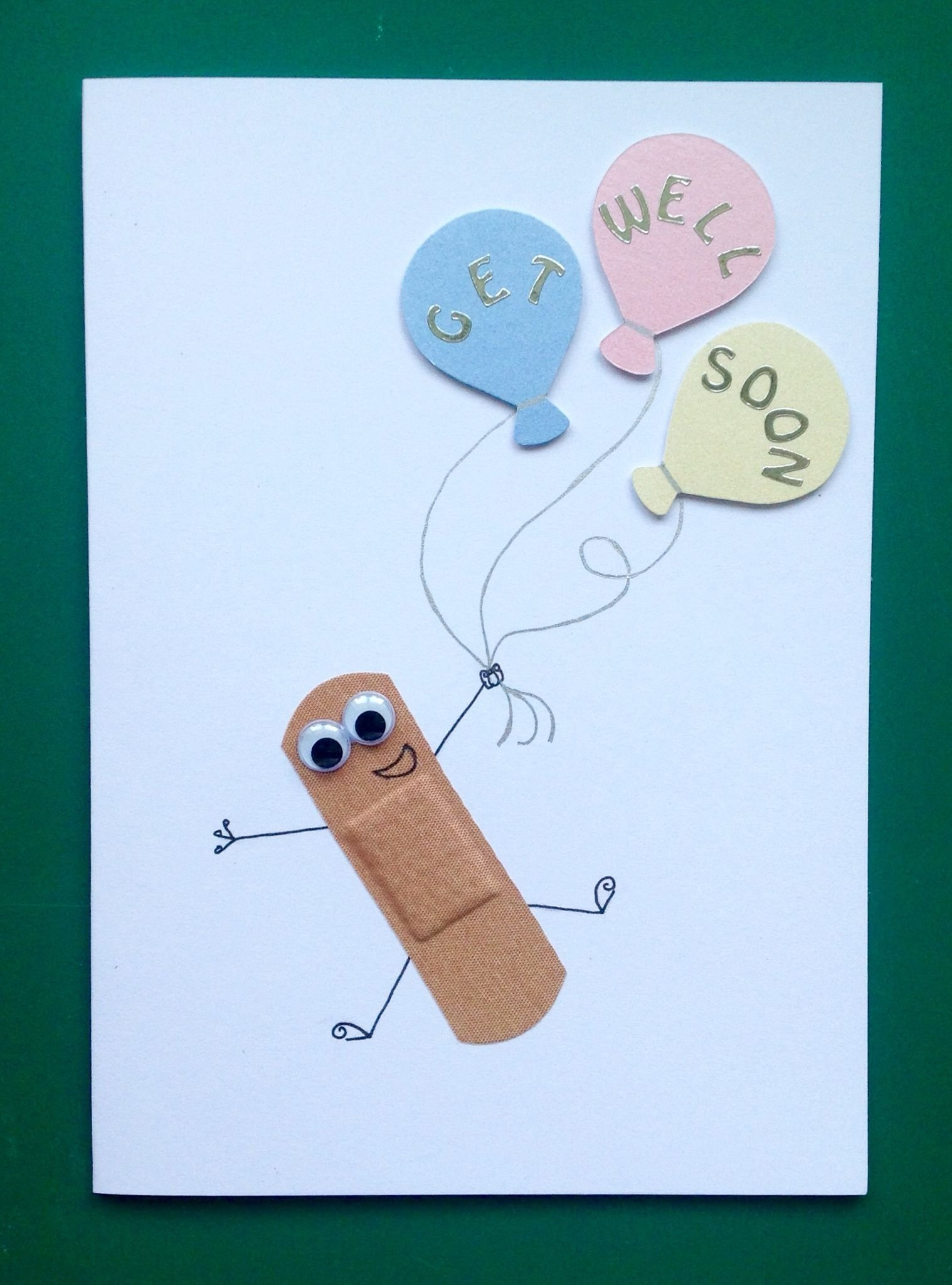 child's get well soon card. handmade cards. … | pinteres…