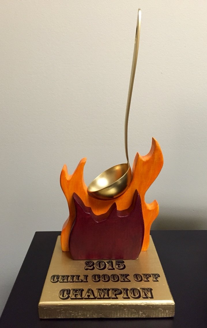 chili cook off trophy madetwocraftyapples | our retired crafts