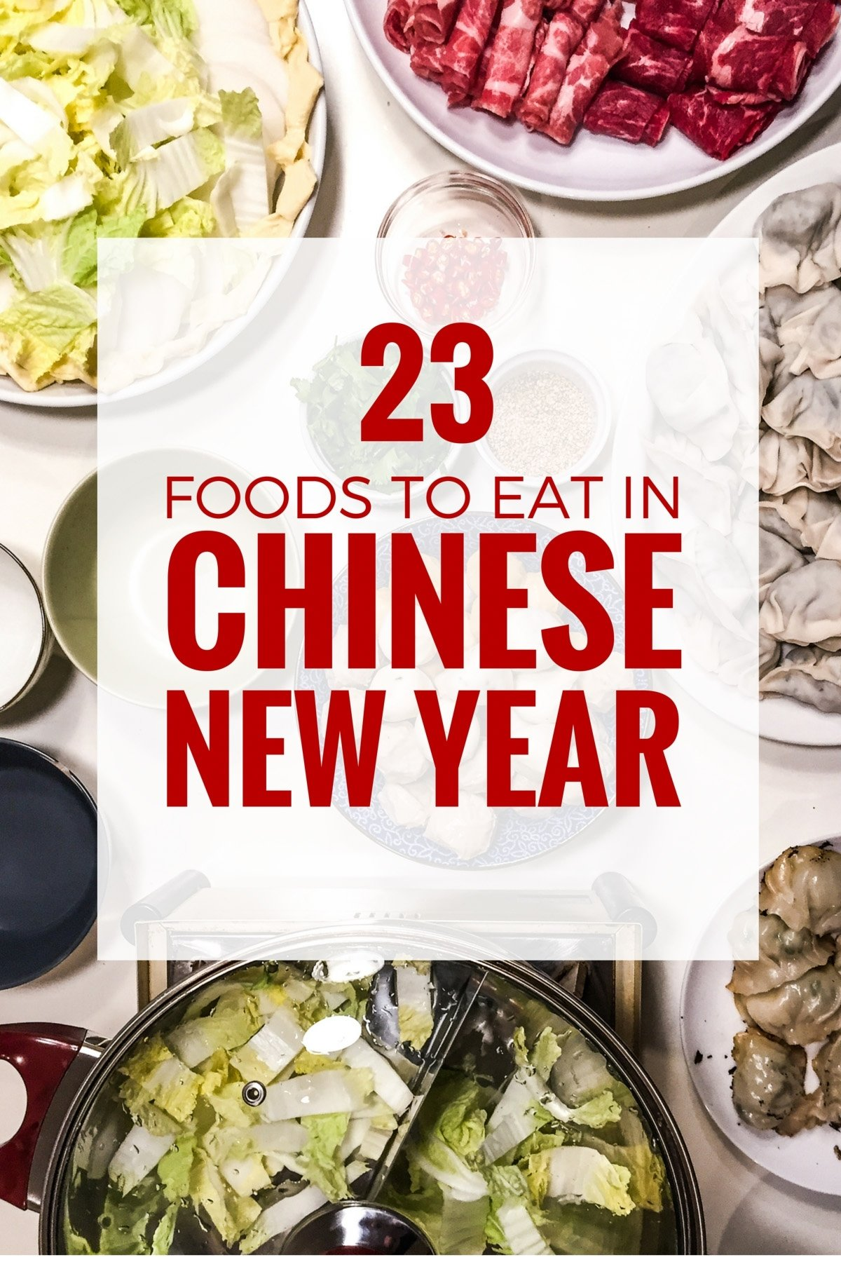 10 Lovely Chinese New Year Food Ideas chinese new year food 23 dishes you cannot miss