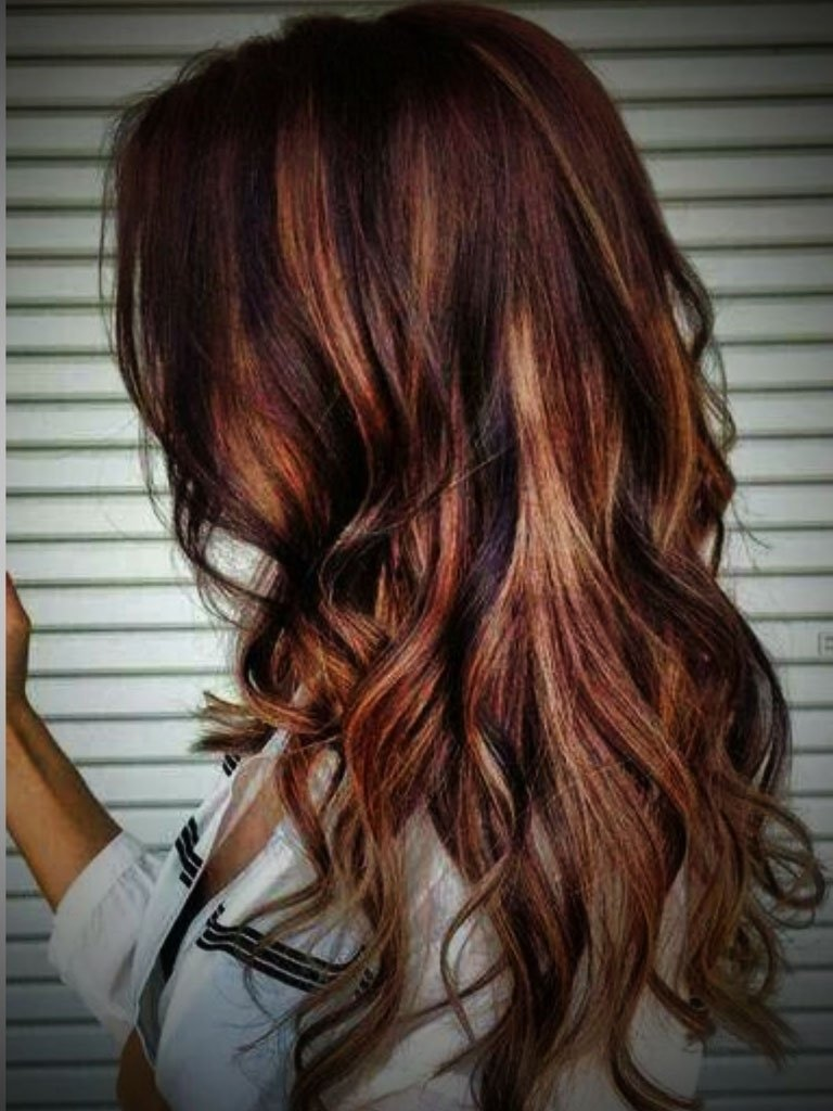 10 Stunning Red With Blonde Hair Color Ideas chocholate blonde hair with red highlights brown red hair color with 2021