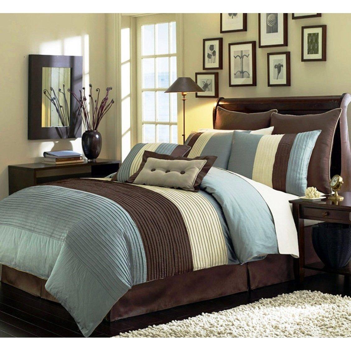 10 Elegant Blue And Brown Bedroom Ideas chocolate brown and blue bedroom ideas e280a2 bedroom ideas 2020