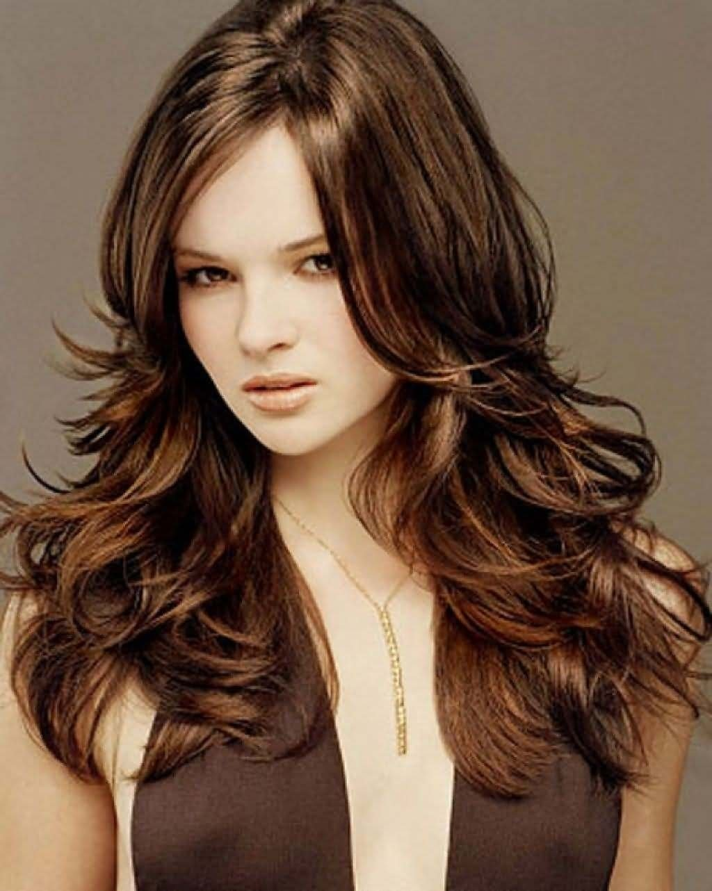 10 Fabulous Chocolate Brown Hair Color Ideas chocolate brown hair color with highlights women medium haircut 2020