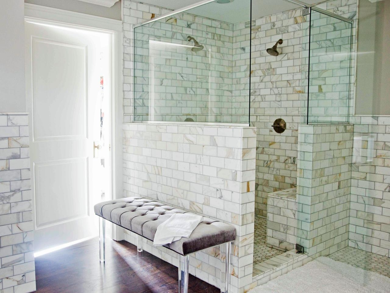 10 Great Small Bathroom Shower Tile Ideas %name 2020