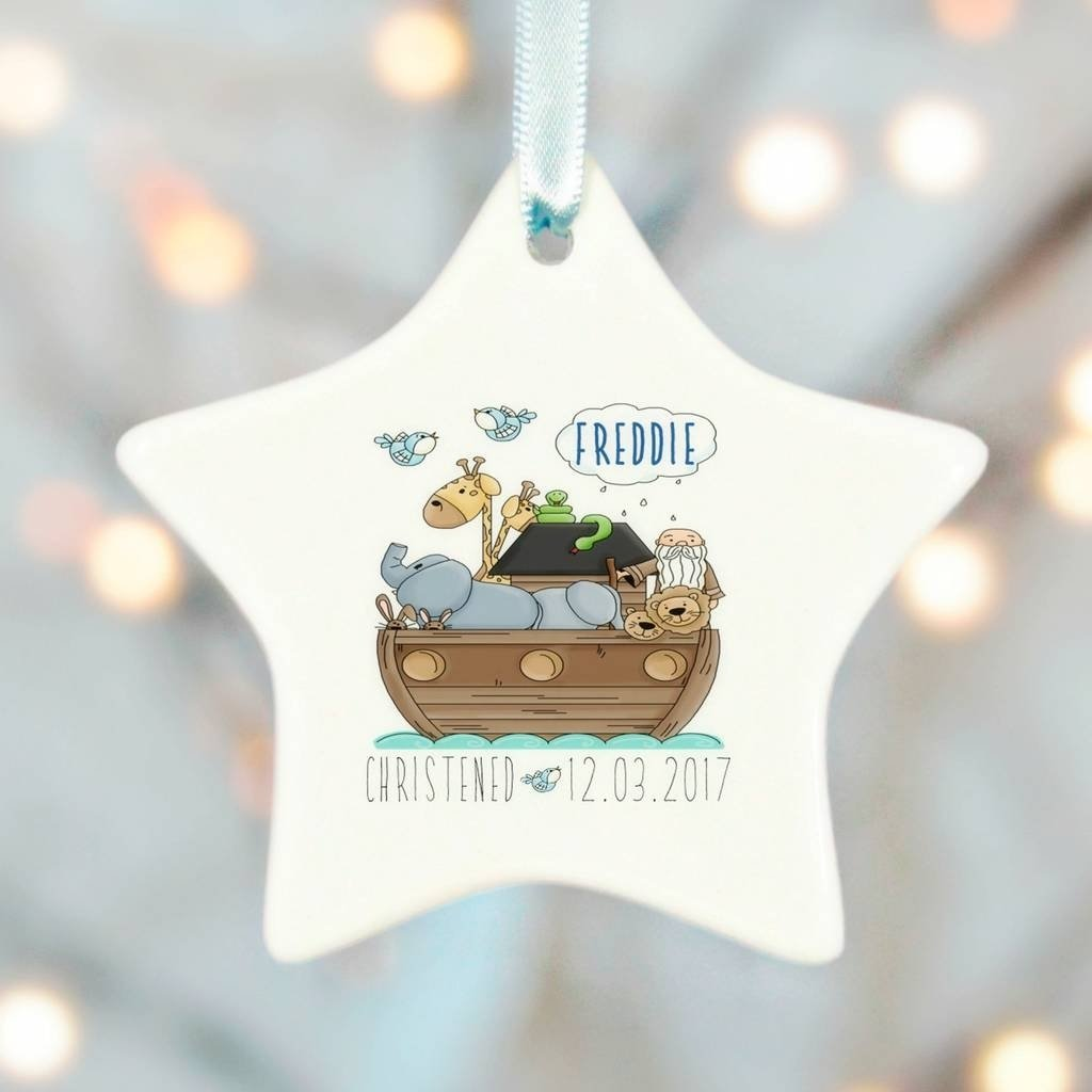 10 Unique Gift Ideas For Baptism Boy christening gifts boys girls noah ark ceramic starchristening 2020