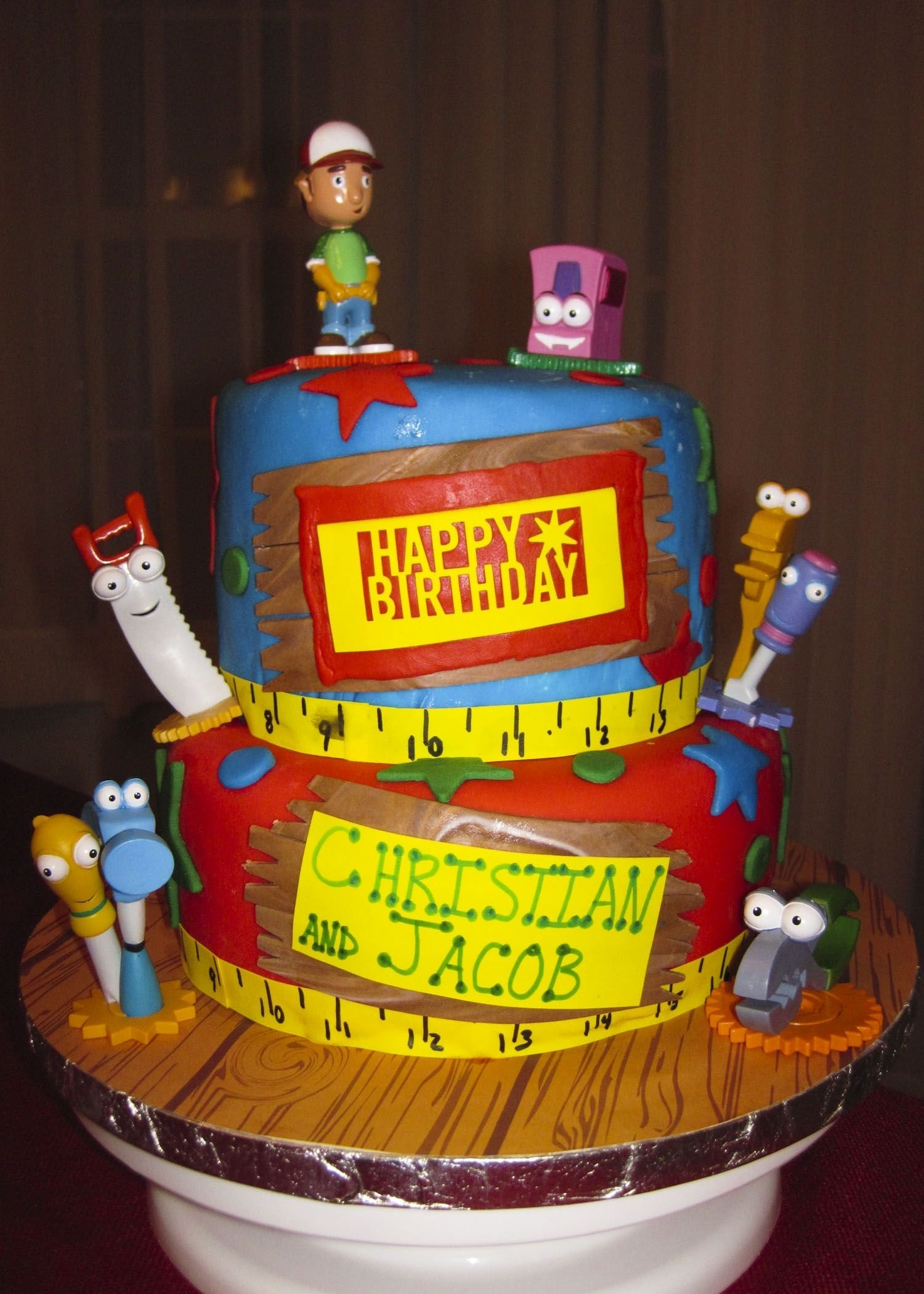 10 Amazing Handy Manny Birthday Party Ideas christian and jacobs 3rd birthday handy manny cake cakes 2020