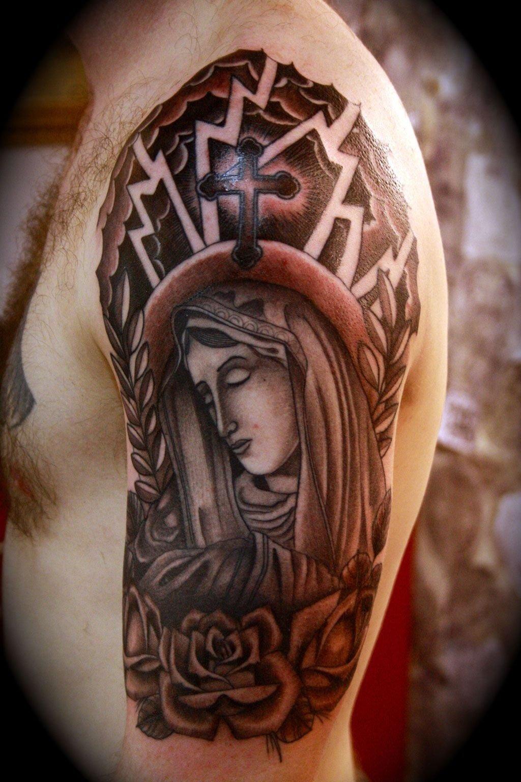 10 Pretty Christian Tattoo Ideas For Men christian tattoo half sleeve x3cbx3echristian tattoosx3c bx3e