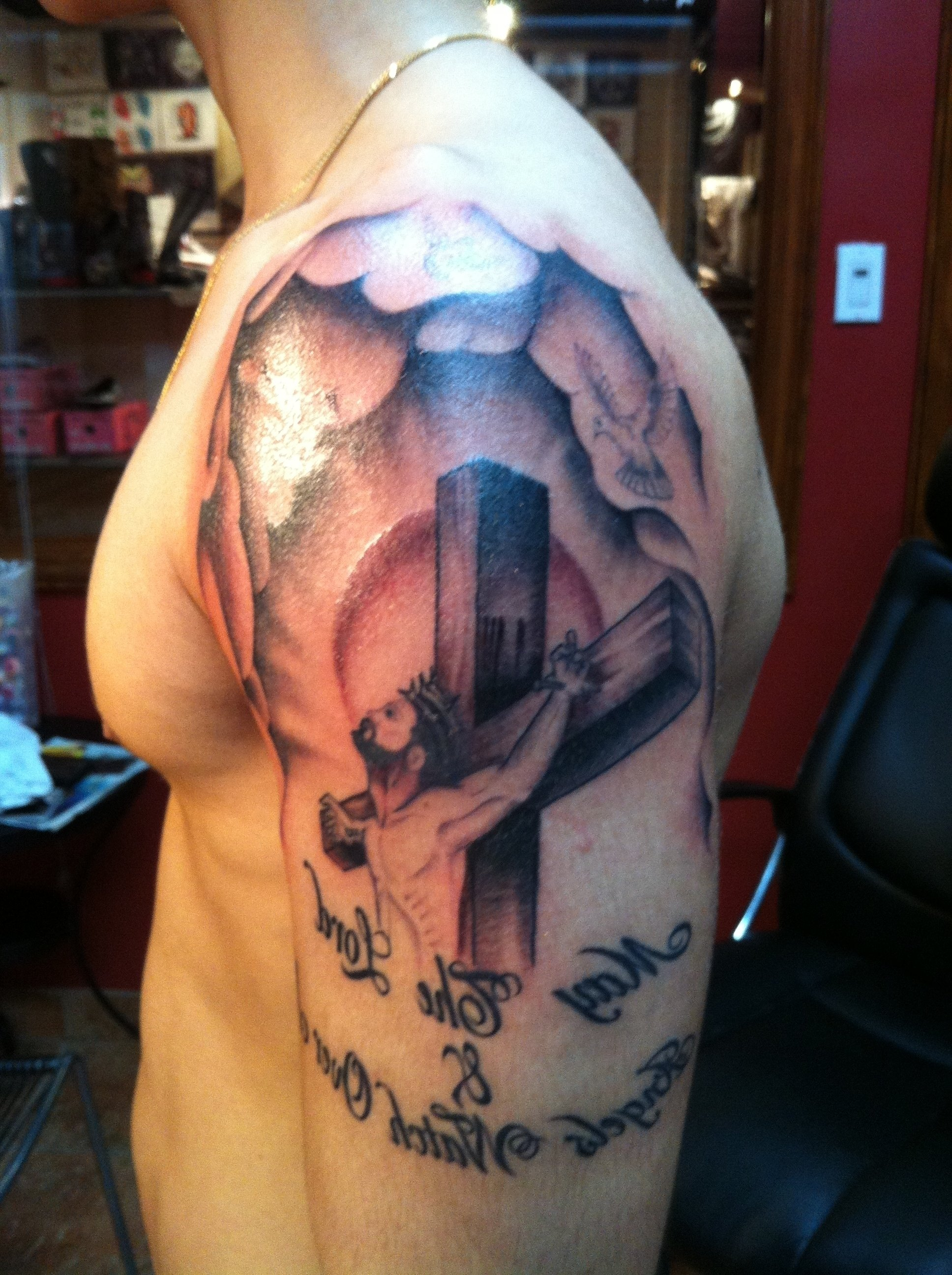 10 Pretty Christian Tattoo Ideas For Men christian tattoo ideas for men religious tattoos designs ideas and 2020