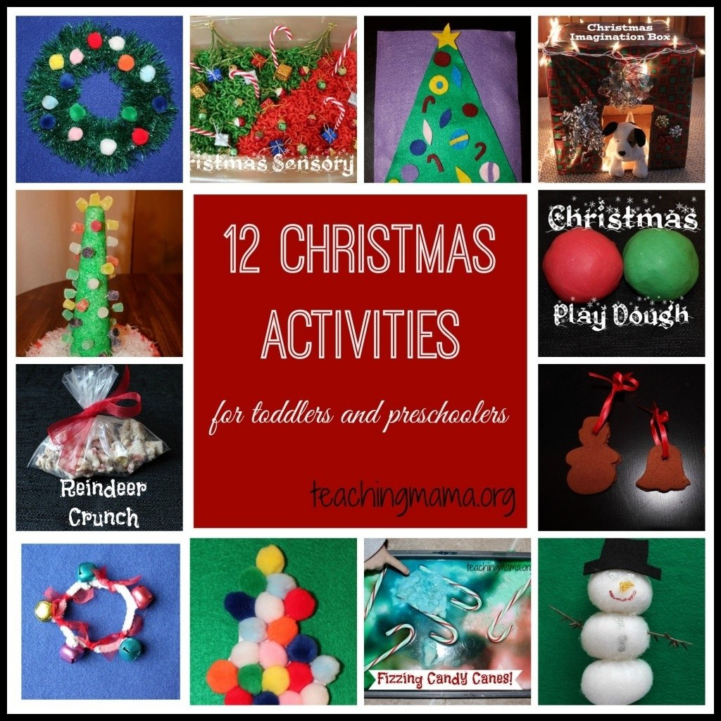 10 Ideal Christmas Activity Ideas For Kids christmas activities for toddlers and preschoolers 2020
