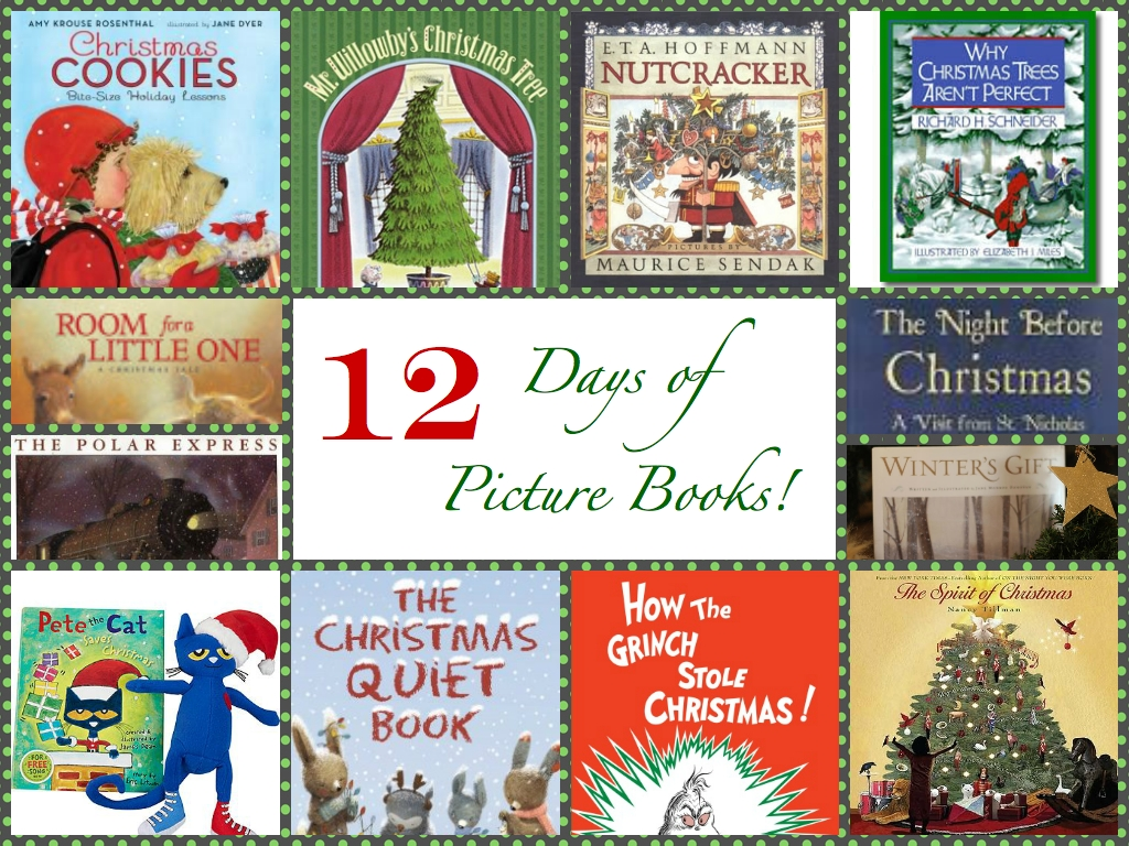 10 Pretty 12 Days Of Christmas Ideas For Kids christmas book list with crafts and activities picture book professor 2020