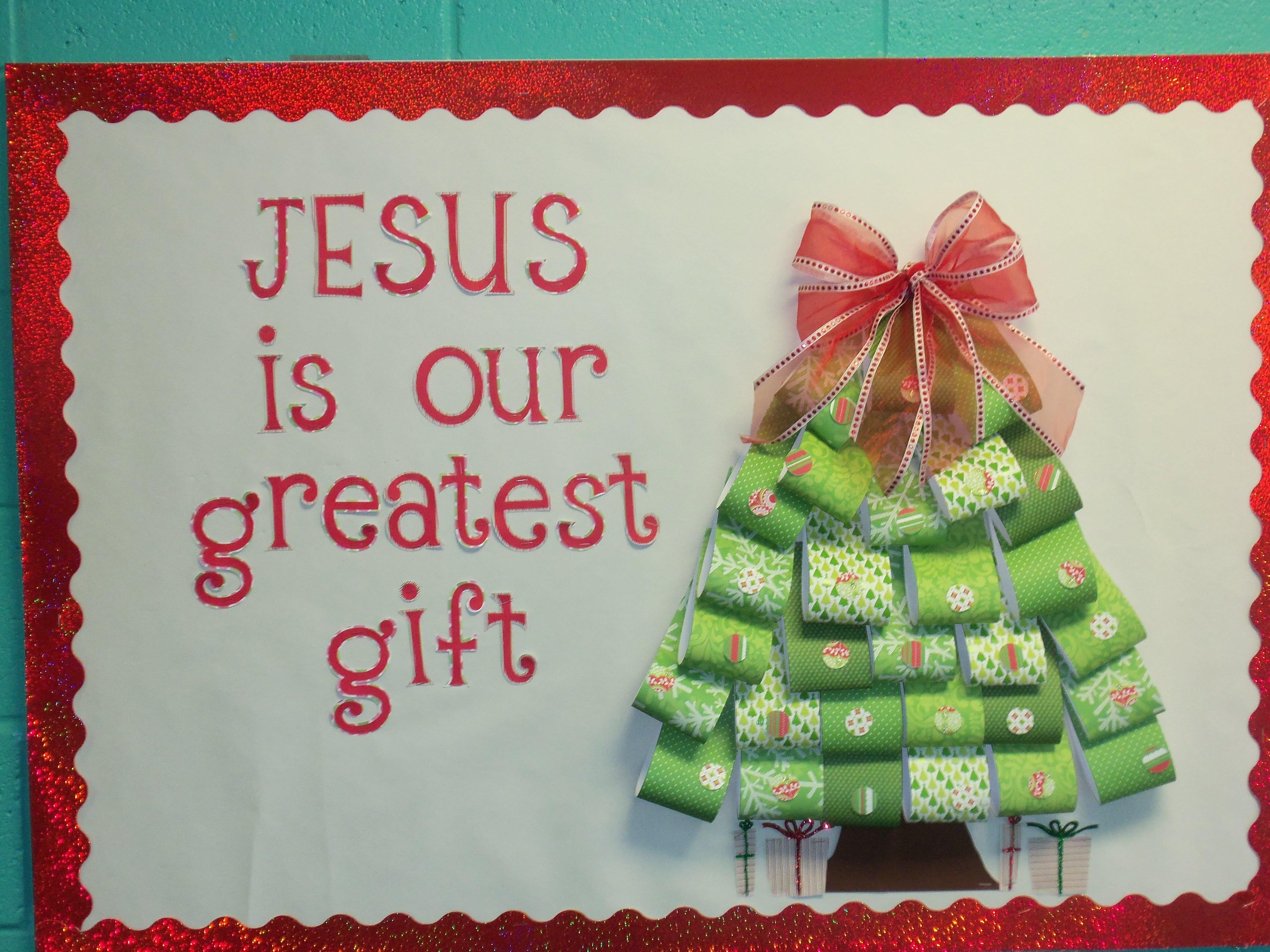 10 Ideal Christmas Church Bulletin Board Ideas christmas bulletin board would love to do this with gifts instead 3 2020