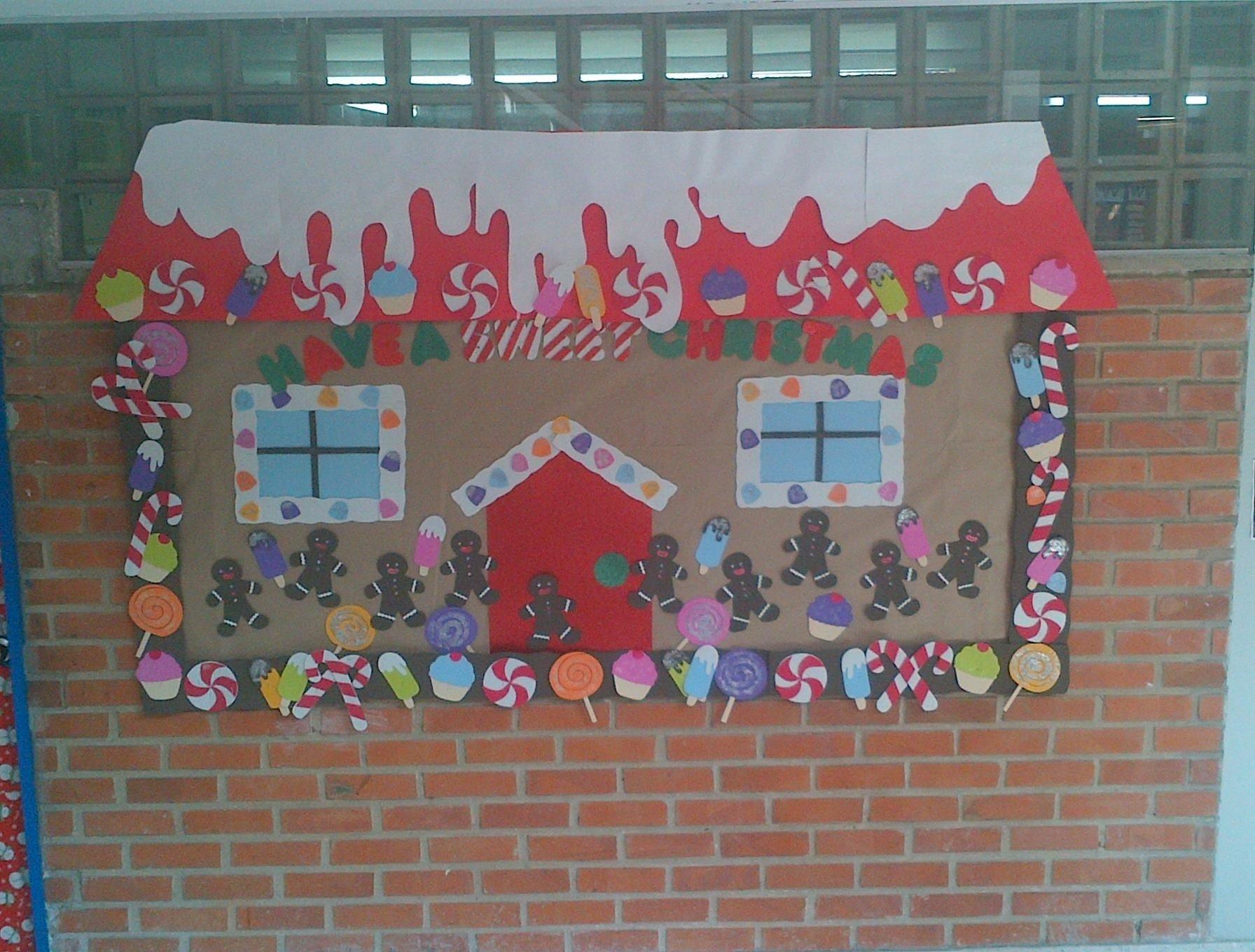 10 Wonderful Preschool Christmas Bulletin Board Ideas christmas bulletin boardjust make the b board into the house 3 2020
