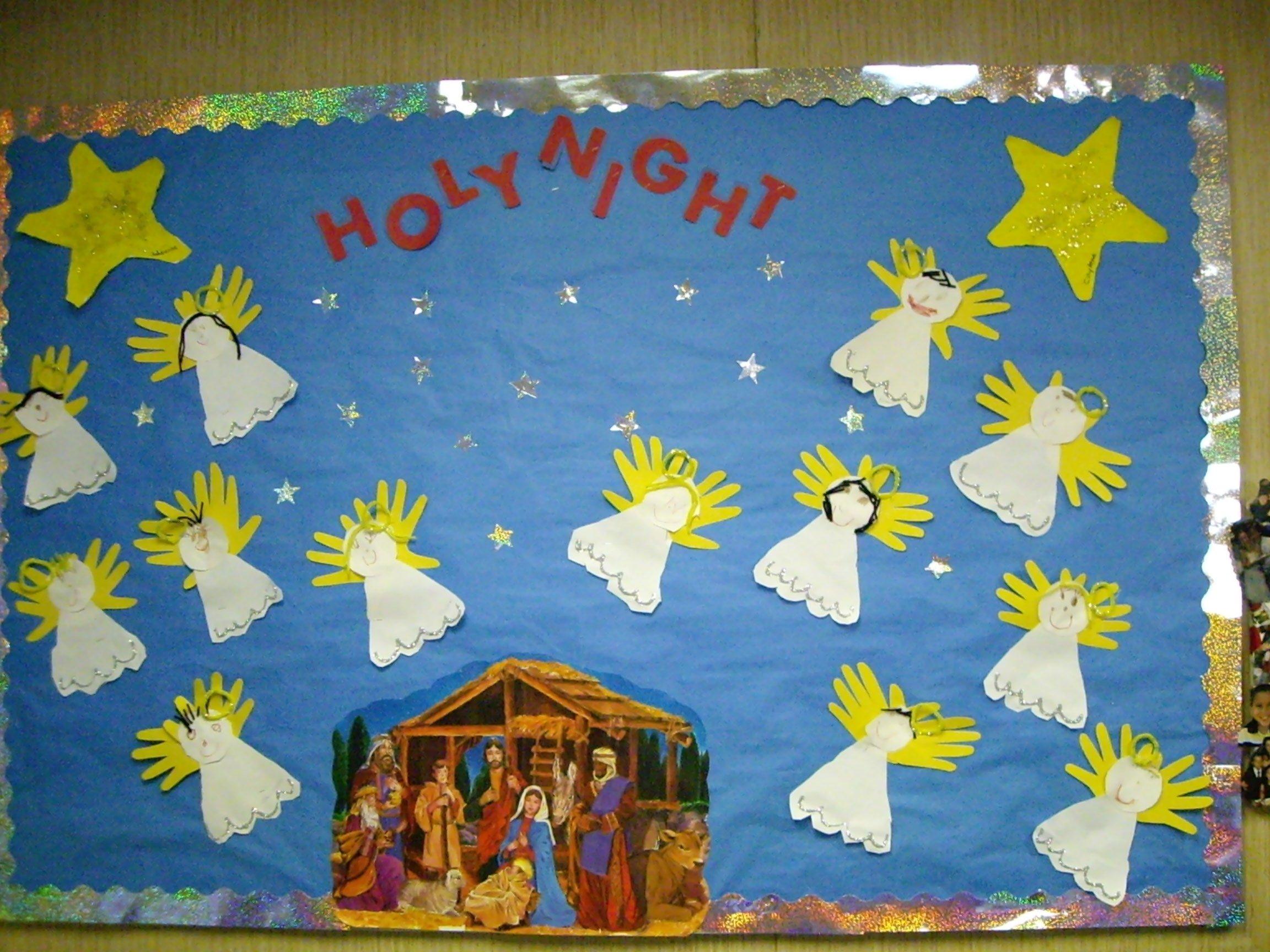10 Lovely Christmas Bulletin Board Ideas For Church 2021