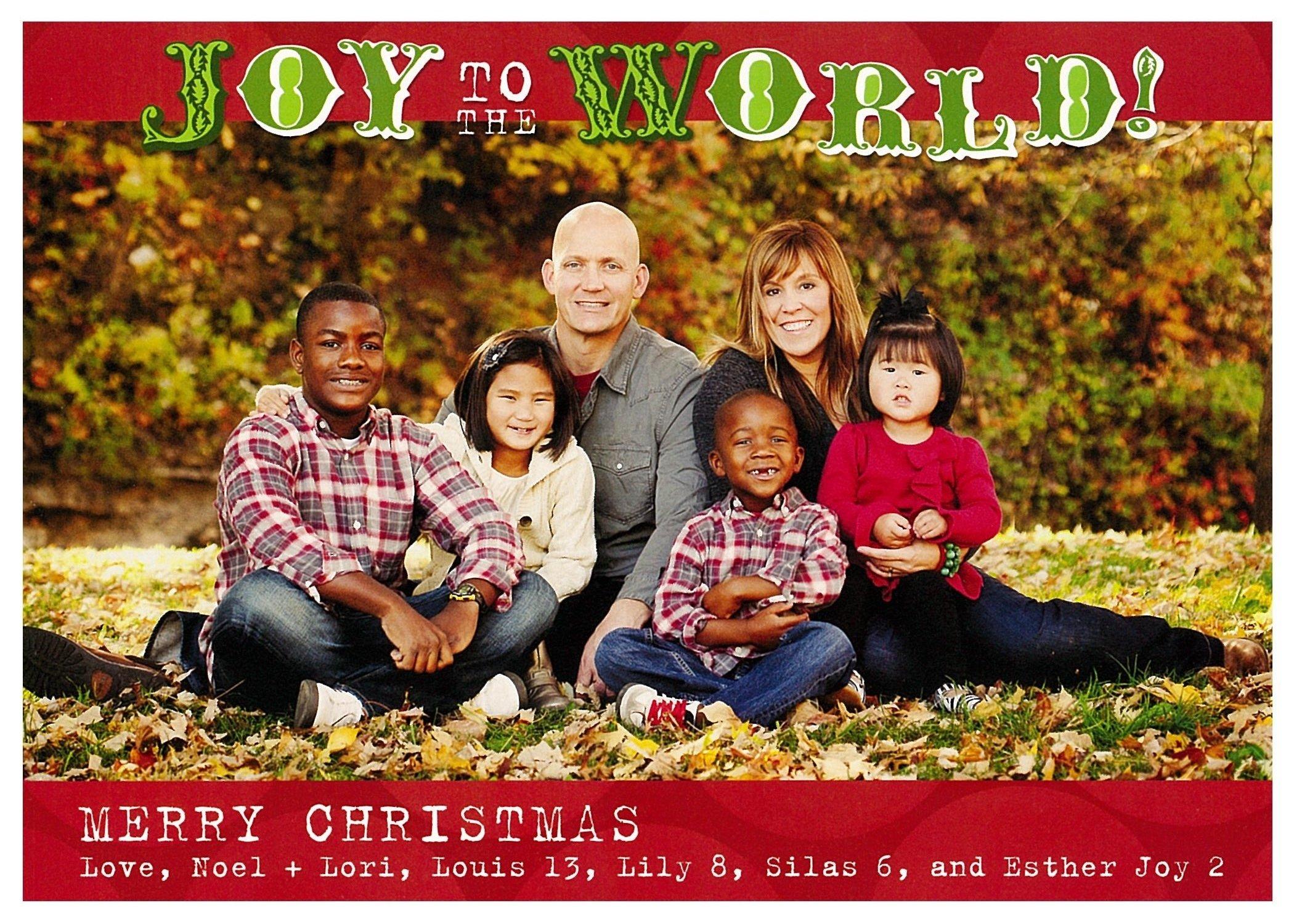 10 trendy family photo christmas card ideas