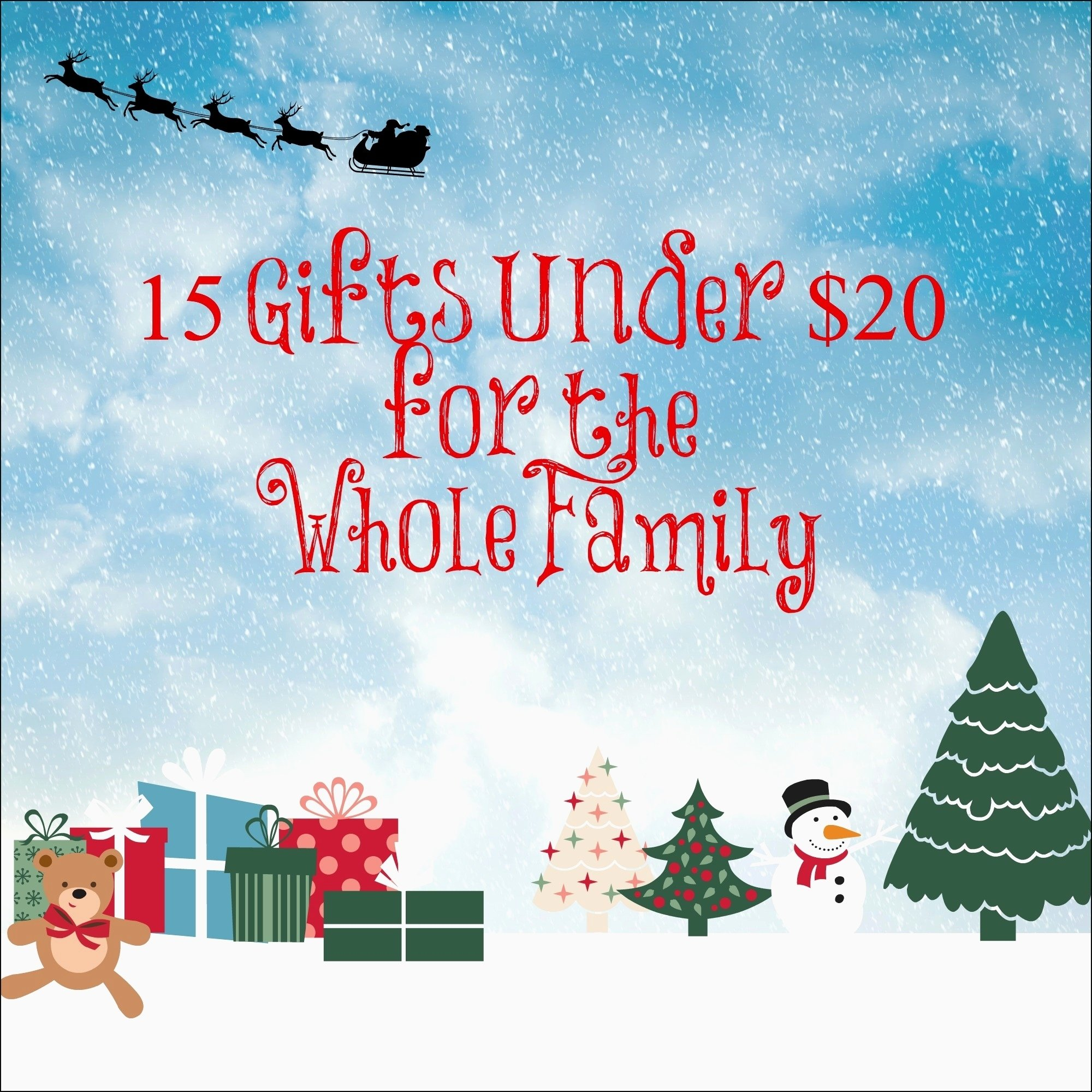 10 Ideal Whole Family Christmas Gift Ideas christmas christmas gifts under 5 elegant the best christmas gift 2020