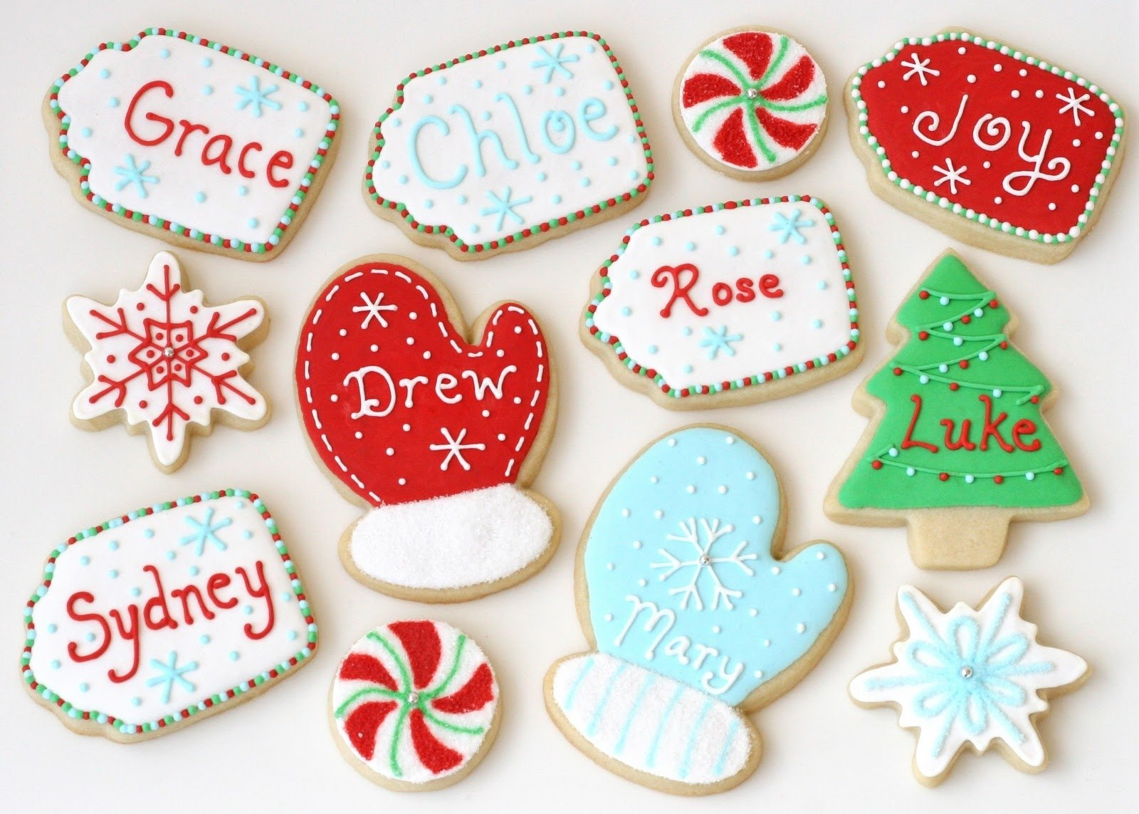 christmas cookie decorating ideas : fun cookie decorating ideas