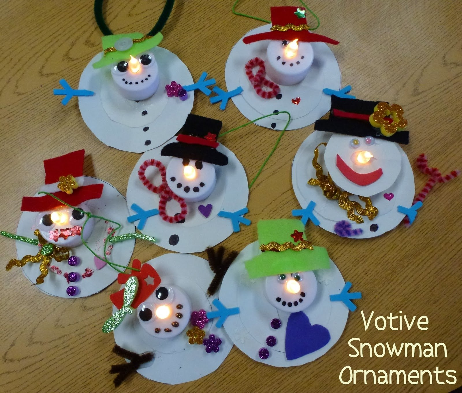 10 Lovely Christmas Decorating Ideas For Kids Christmas Crafts Kids  Ornament Snowman Dma Homes 85544 2