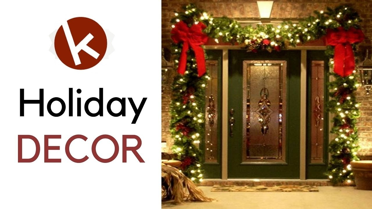 10 Awesome Front Door Christmas Decorating Ideas christmas decorating ideas for front door house outdoor decoration 2020