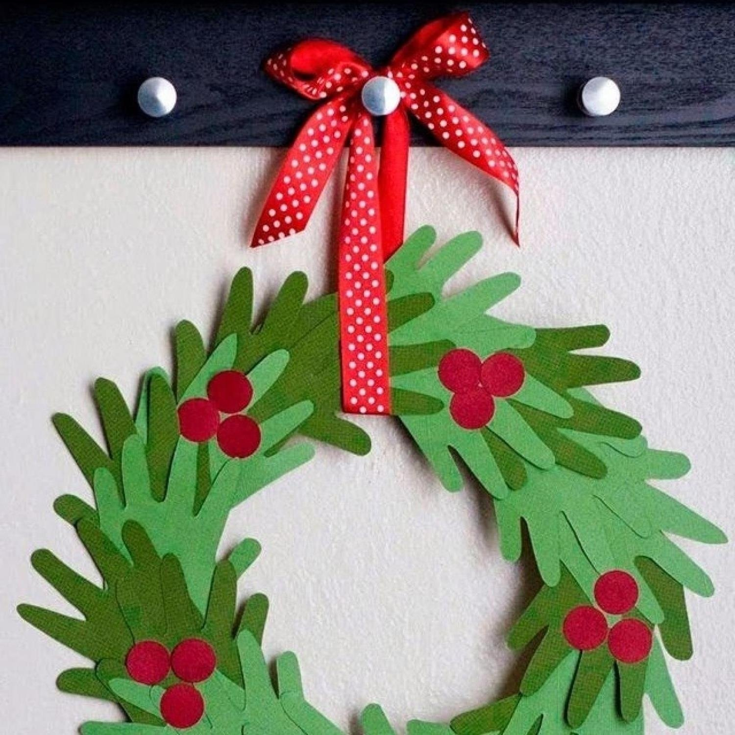 christmas decoration crafts for kids | craft get ideas