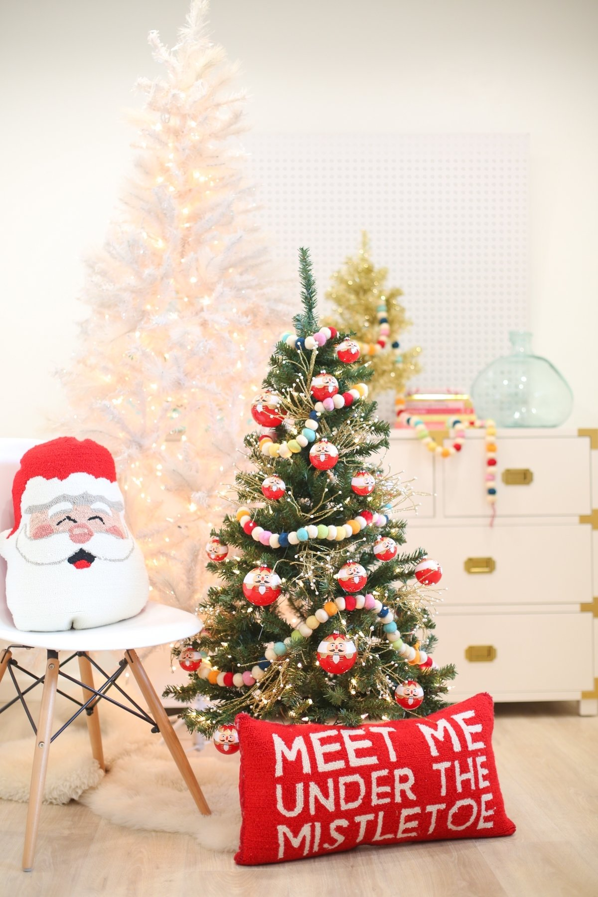 10 Stylish Christmas Tree Decorating Ideas For Kids christmas decoration idea a mini tree in the kids room lovely indeed 2021