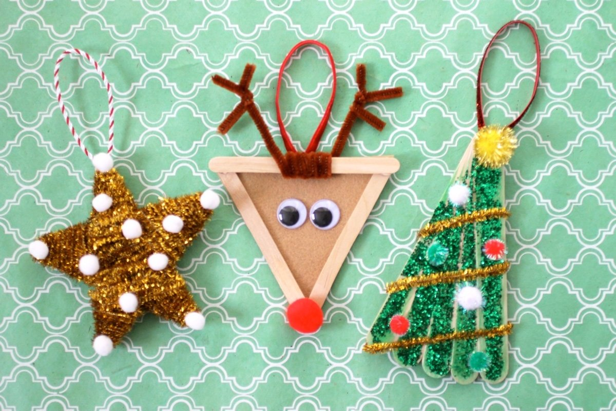 10 Gorgeous Christmas Ornament Craft Ideas For Kids christmas diy kids ornaments evite 2021