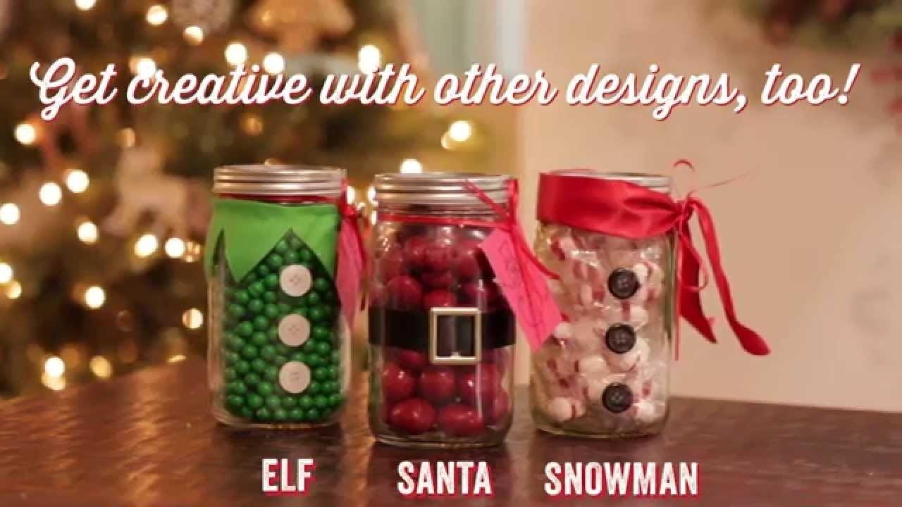 10 Cute Craft Ideas For Christmas Gifts christmas diy mason jar teacher gift youtube 5 2021