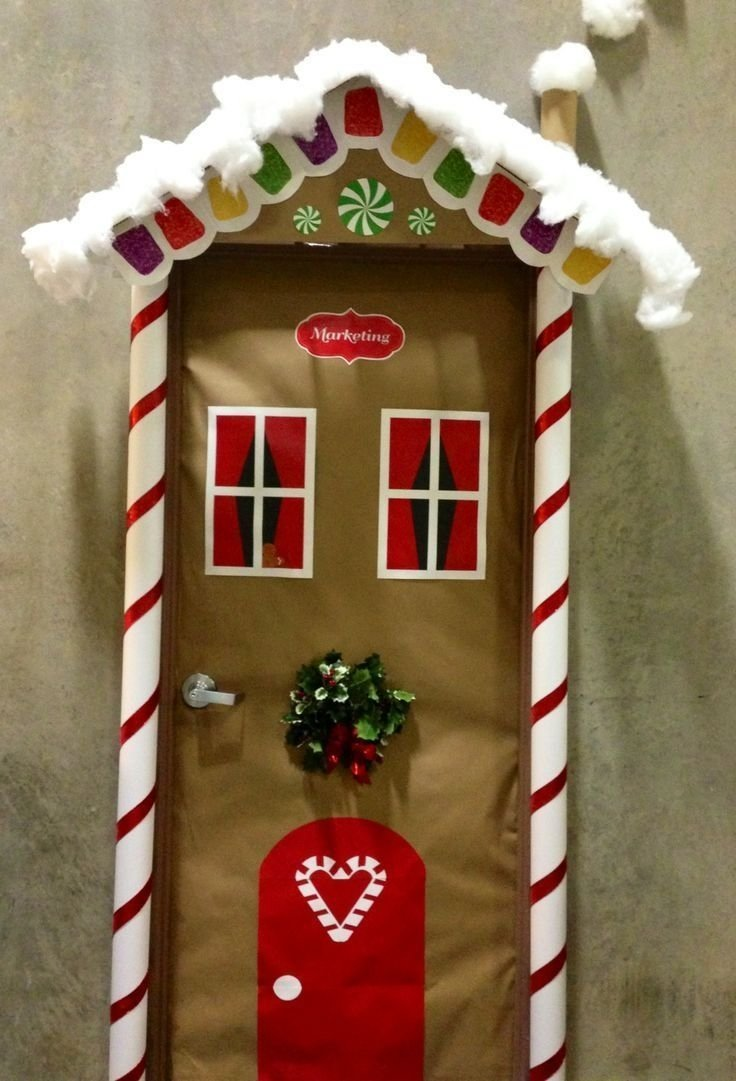 10 Stunning Door Decorating Ideas For Christmas christmas door decorating ideas doors christmas door decorations