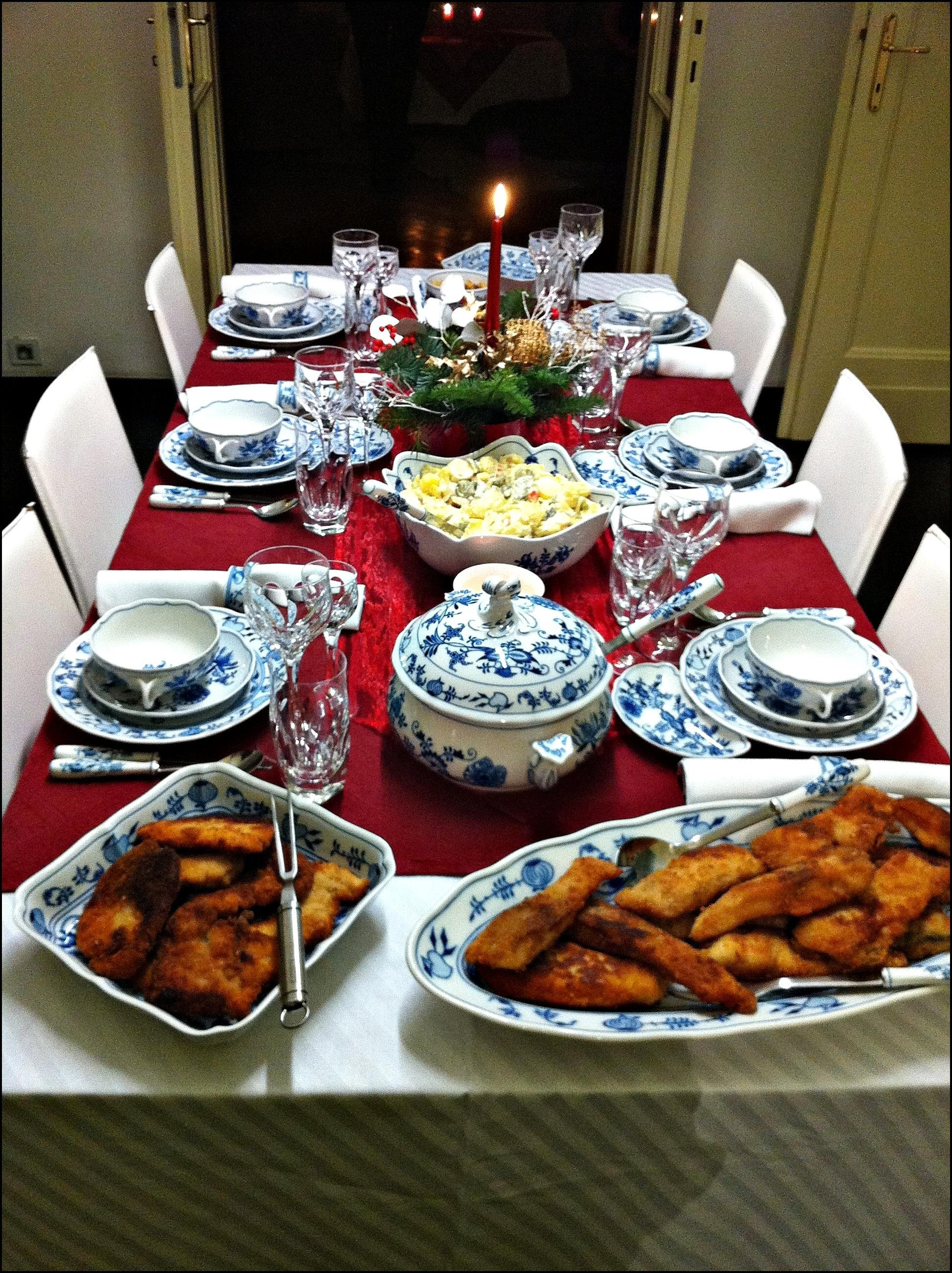 10 Perfect Christmas Eve Fish Dinner Ideas christmas eves dinner fish soup carp and potato salad in our