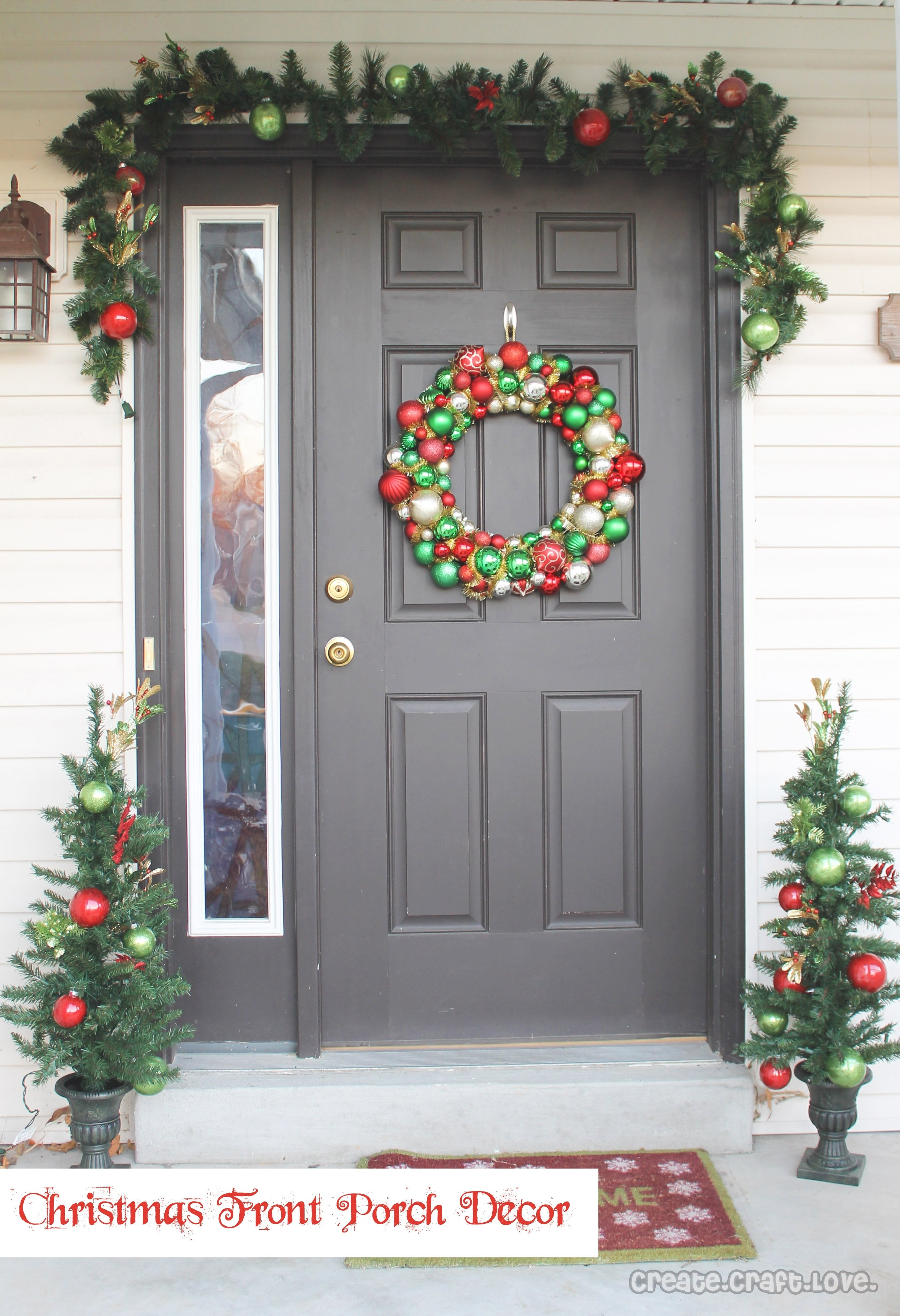 10 Nice Front Porch Christmas Decorating Ideas christmas front porch decor create craft love idolza how to decorate 2020