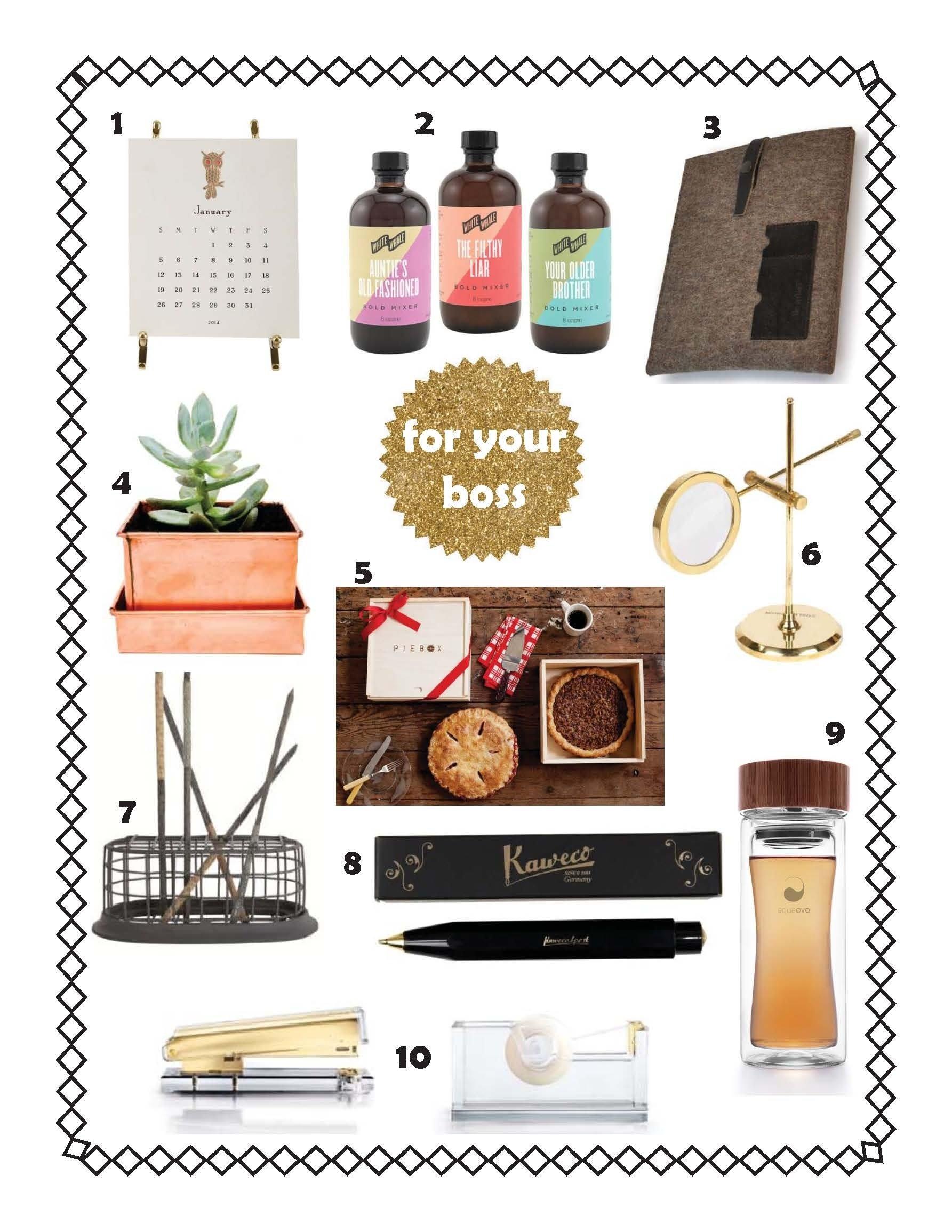 10 Stylish Gift Ideas For Female Boss christmas gift for a boss sun design 2021