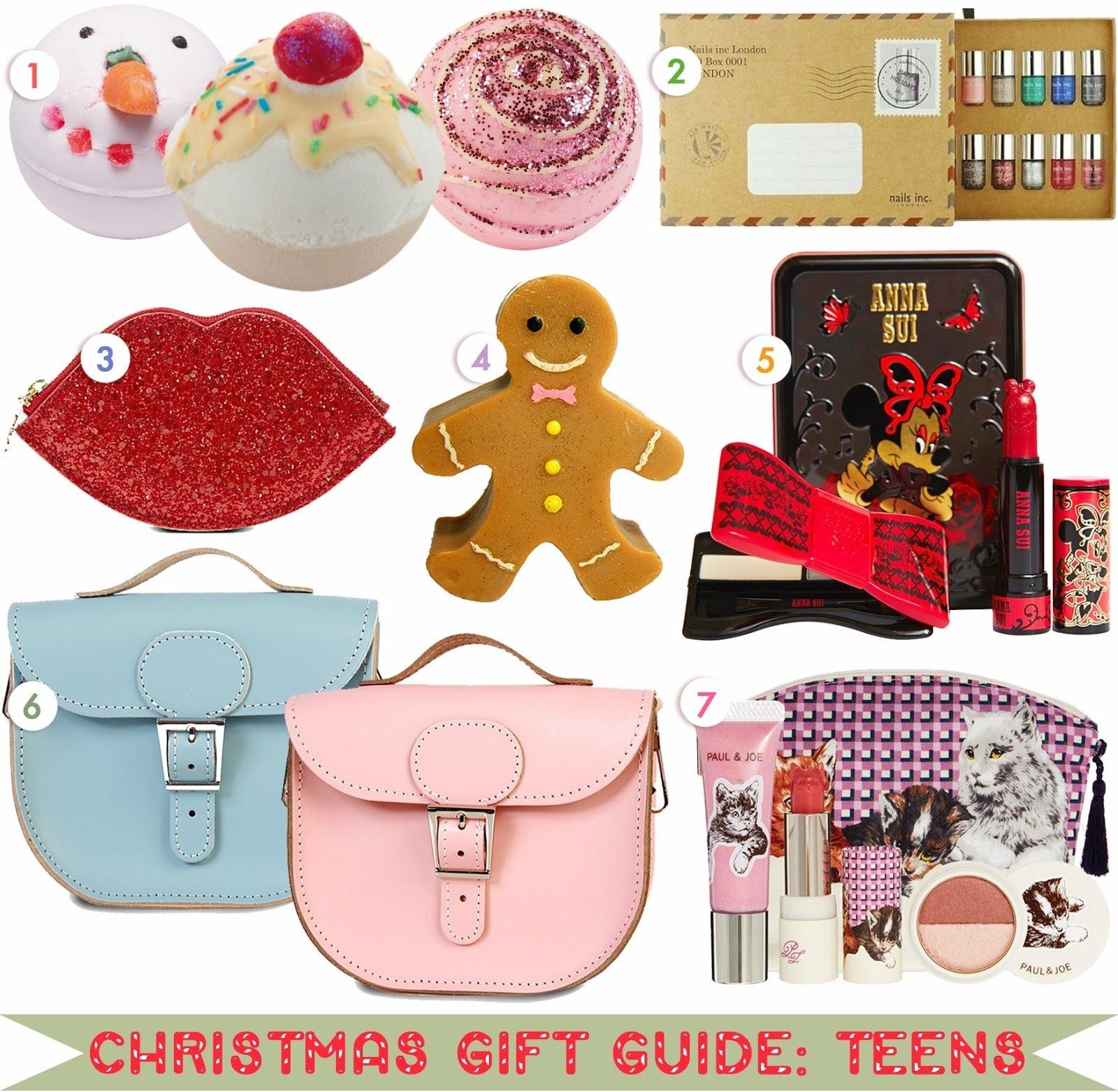 10 Lovable Christmas Present Ideas For Sister christmas gift guide teens temporarysecretary uk fashion 2 2020