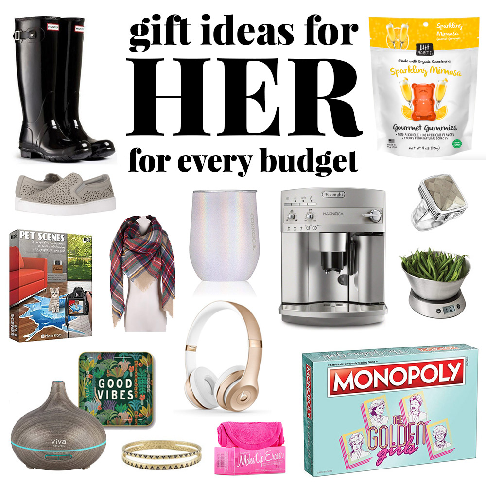 christmas gift ideas for her (gifts for women) | yellowblissroad