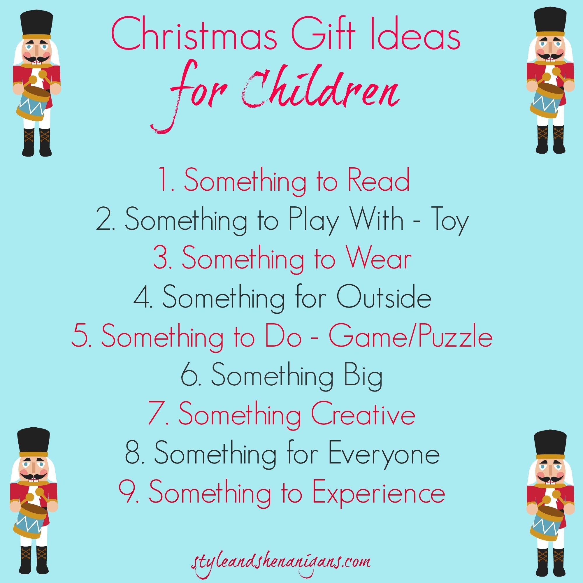 10 Fashionable Ideas For Christmas Gifts For Kids christmas gift ideas for kids christmas 2014 style shenanigans 4 2020