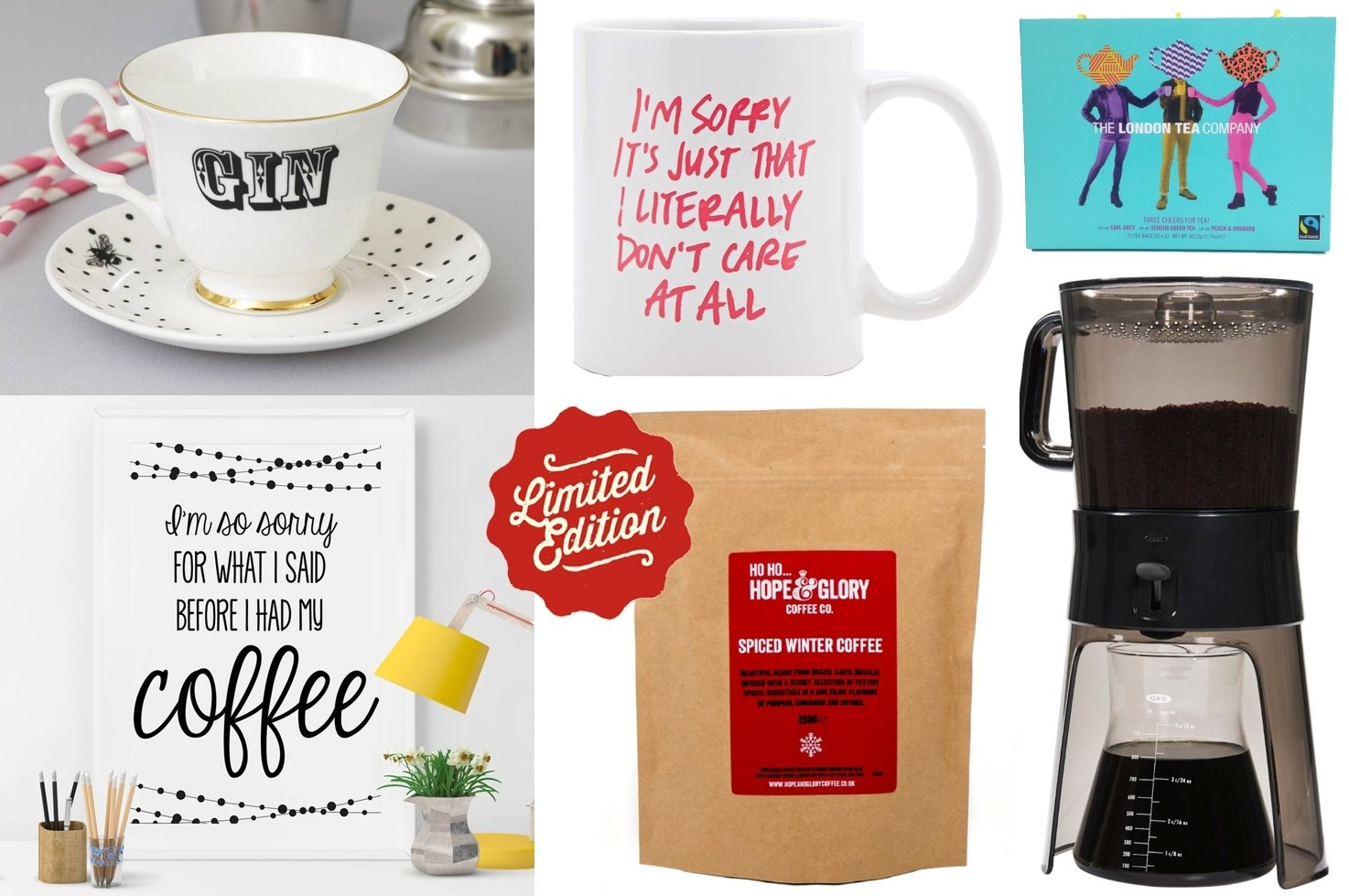 10 Pretty Gift Ideas For Coffee Lovers christmas gift ideas for tea and coffee lovers thou shalt not covet 2020