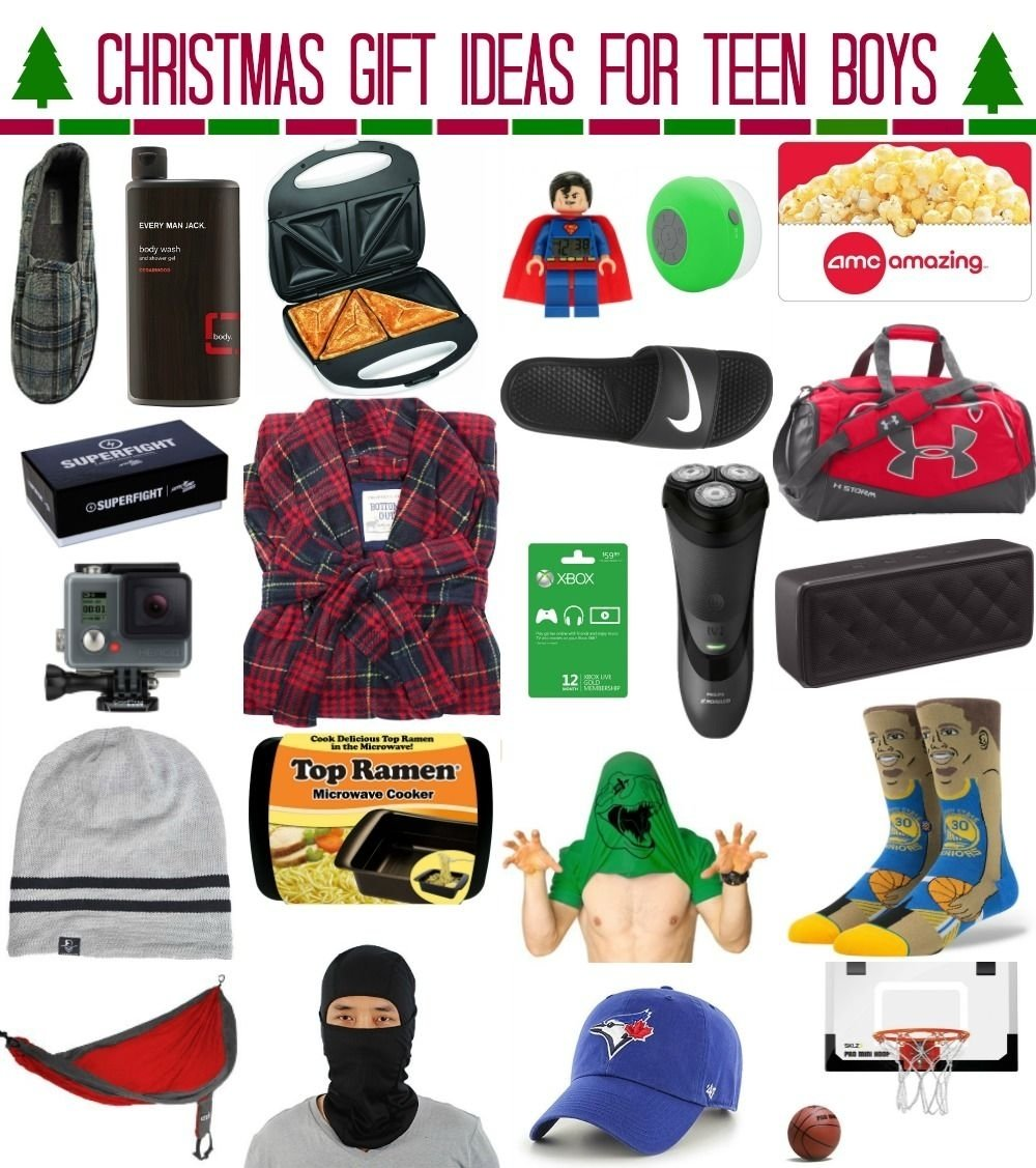 10 Perfect Birthday Ideas For Teenage Guys Christmas Gift Teen Boysmeg Duerksen Of Whatever
