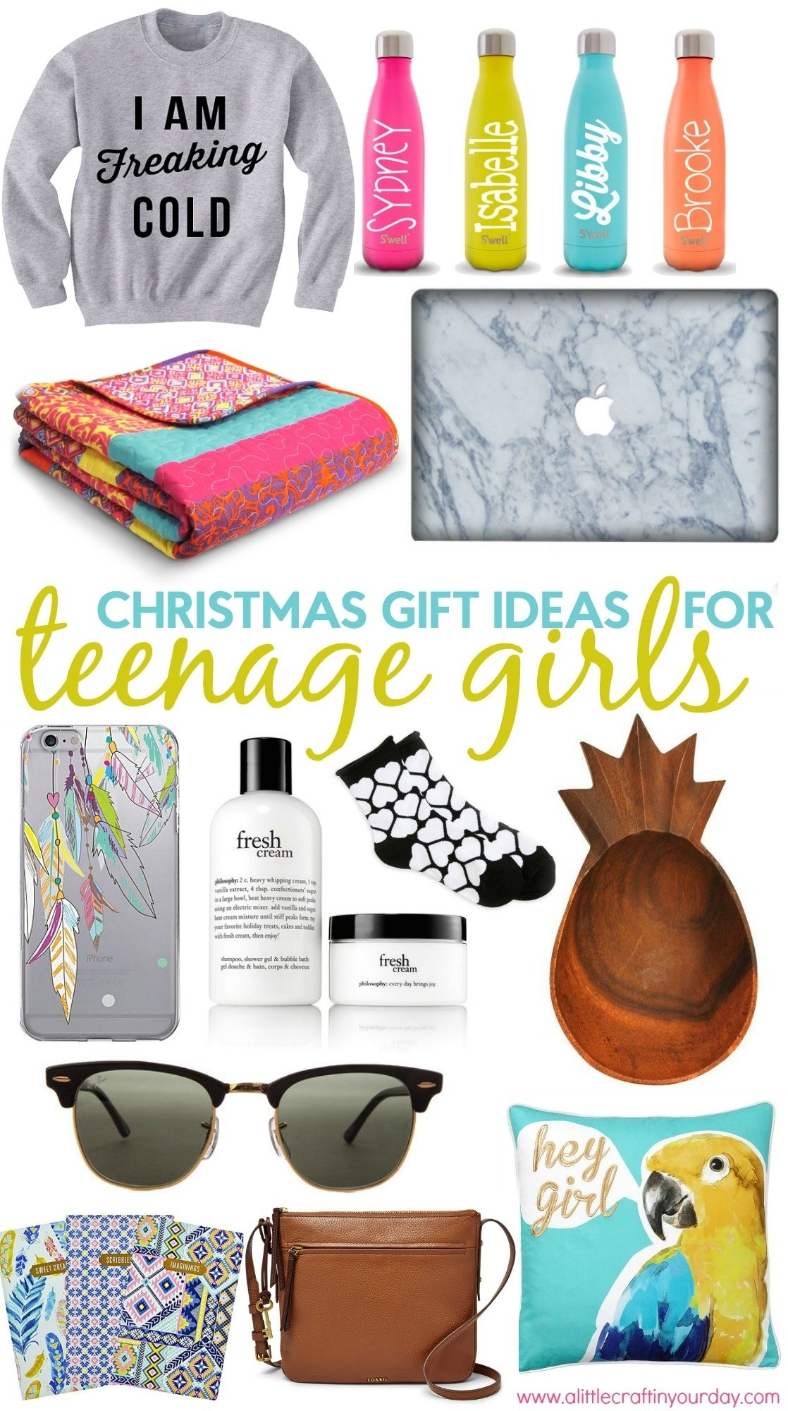 10 Stylish Christmas Present Ideas For Teenage Girls christmas gift ideas for teen girls a little craft in your day 19 2020