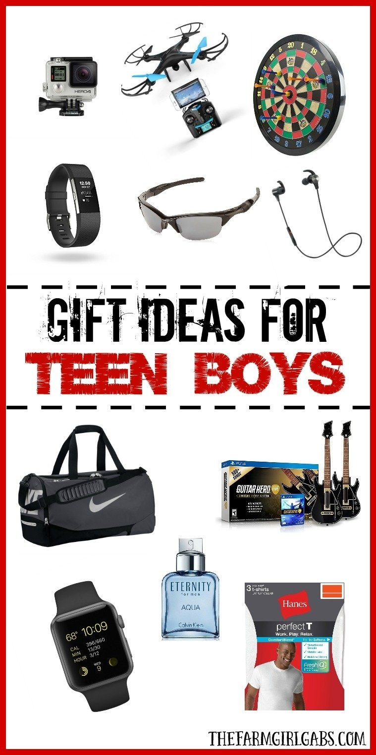 10 Best Gift Ideas For Teenage Guys