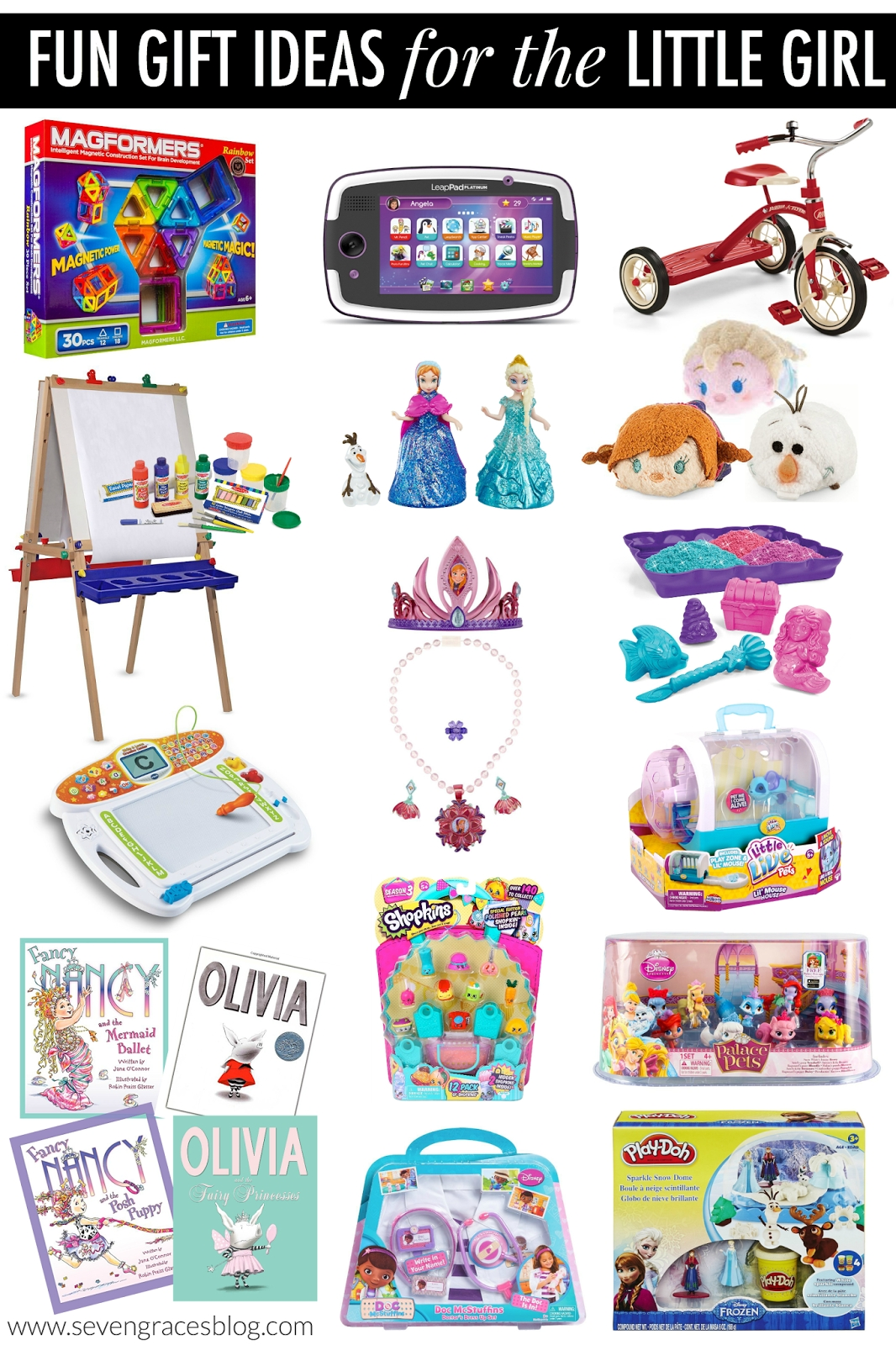 christmas gift ideas for the little girl - seven graces