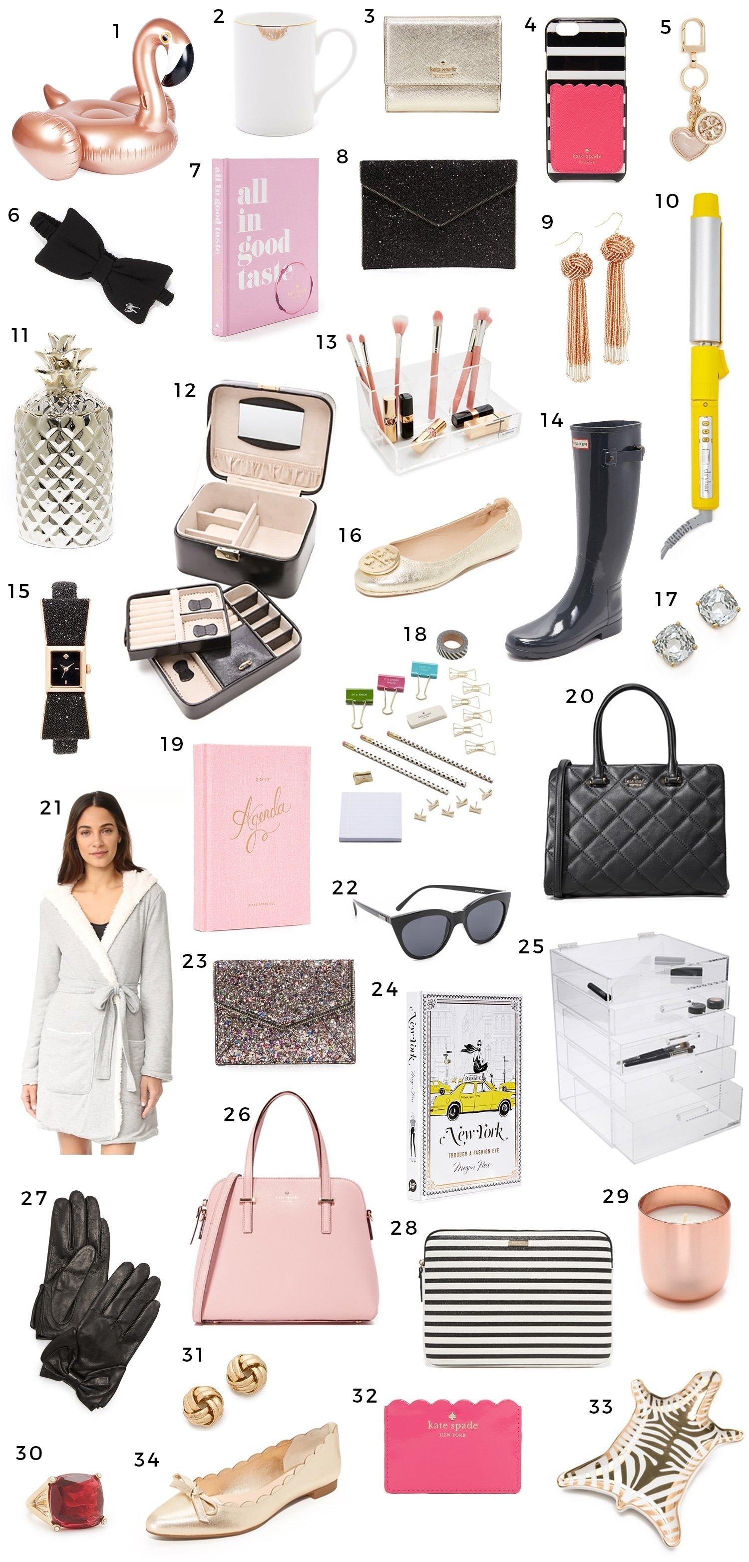 10 Beautiful Gift Ideas For Women 30 christmas gift ideas for women girly girls ashley brooke 4
