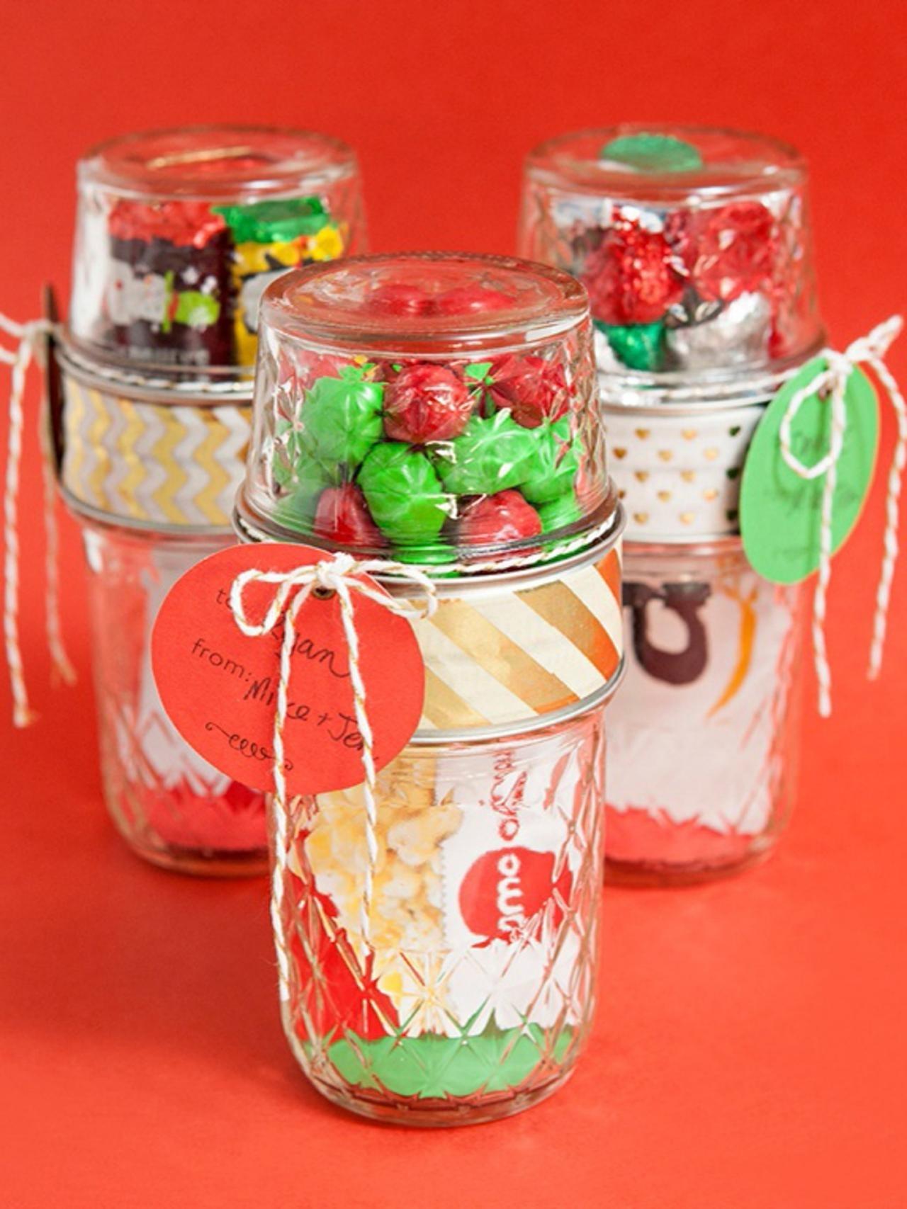 10 Cute Mason Jar Christmas Gift Ideas %name