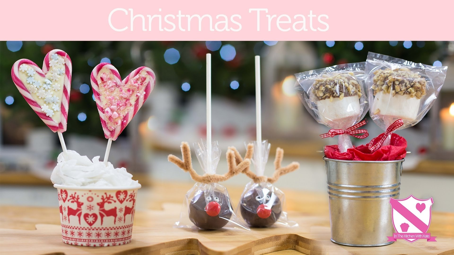 10 Elegant Cake Pop Ideas For Christmas christmas gift ideas reindeer cake pops candy cane lollies in 2020