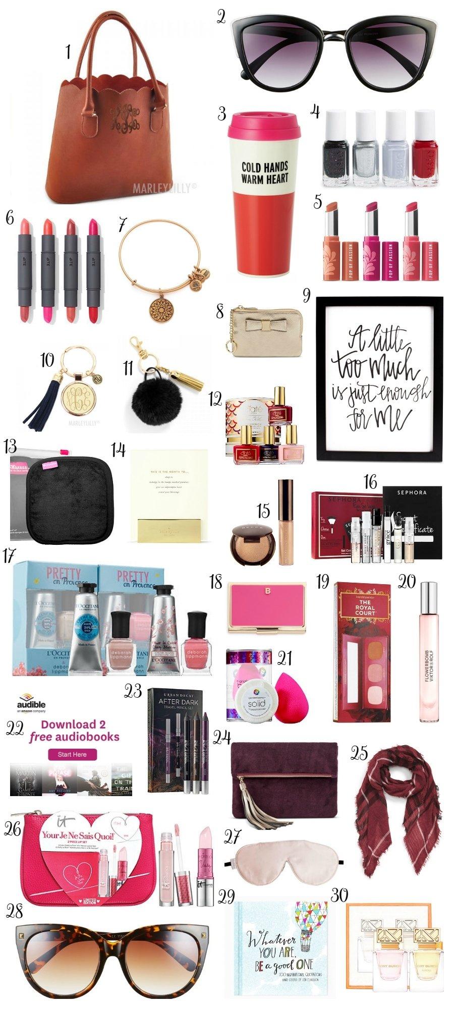 10 Beautiful Gift Ideas For Women 30 christmas gift ideas under 30 ashley brooke nicholas 2