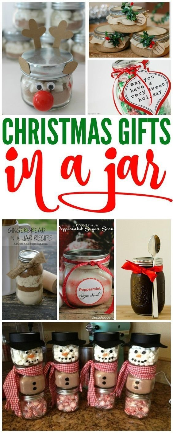 10 Ideal Cheap Ideas For Christmas Gifts christmas gift in jars if you are looking for cheap christmas gift 2020
