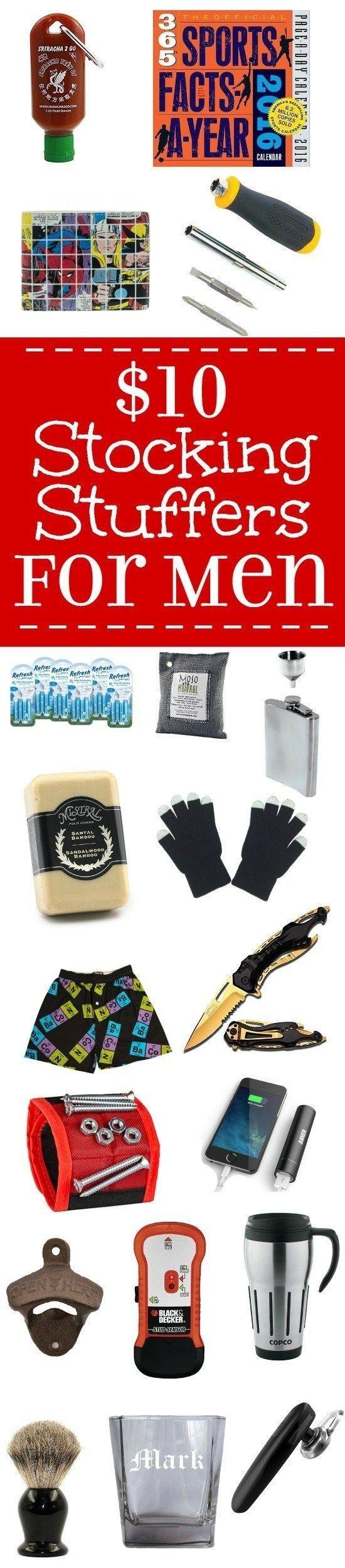 10 Cute Stocking Stuffer Ideas For Men christmas gifts and stocking stuffers ideas for men 25 stocking 2020
