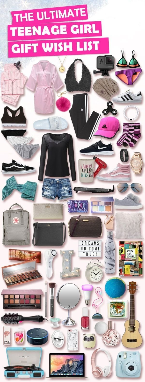 10 Perfect Christmas List Ideas For Teenage Girls christmas gifts for teenage girls list christmas gifts parents 2020