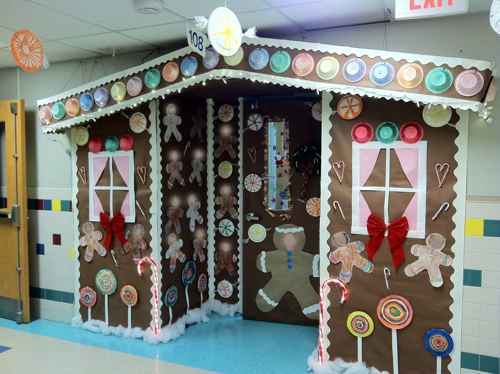 10 Gorgeous Classroom Christmas Door Decorating Contest Ideas christmas gingerbread house classroom door ideas neil mccoy 2020