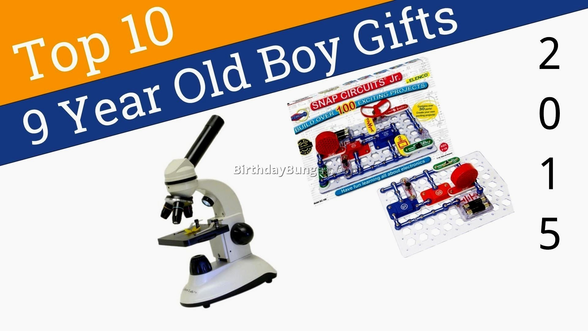 10 Unique 9 Year Old Boy Birthday Gift Ideas Christmas For