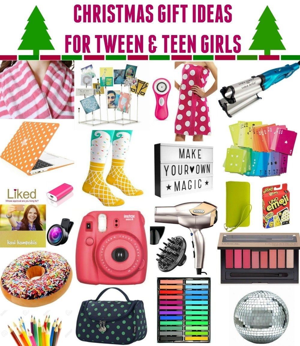 10 Awesome Gift Ideas For Teenage Girls christmas ideas for teens tween girls whatever 2 2020